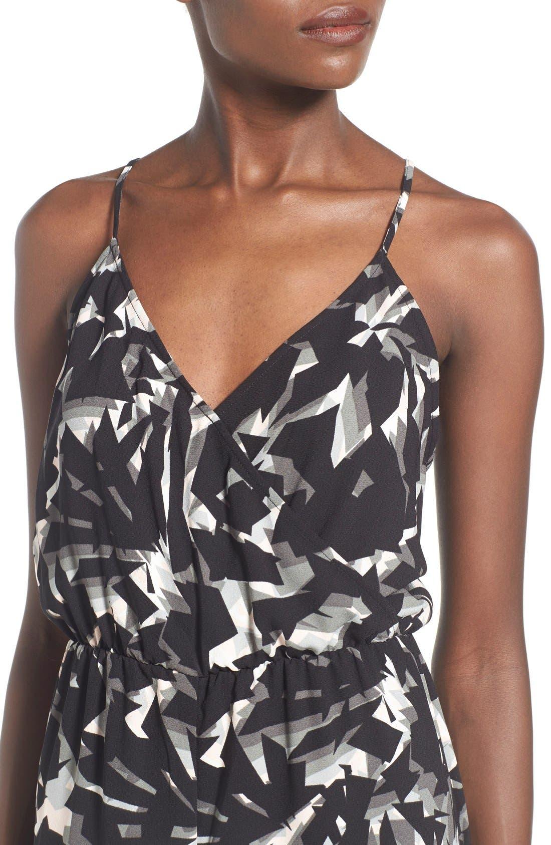 Alternate Image 4  - Leith Wrap Front Culotte Jumpsuit