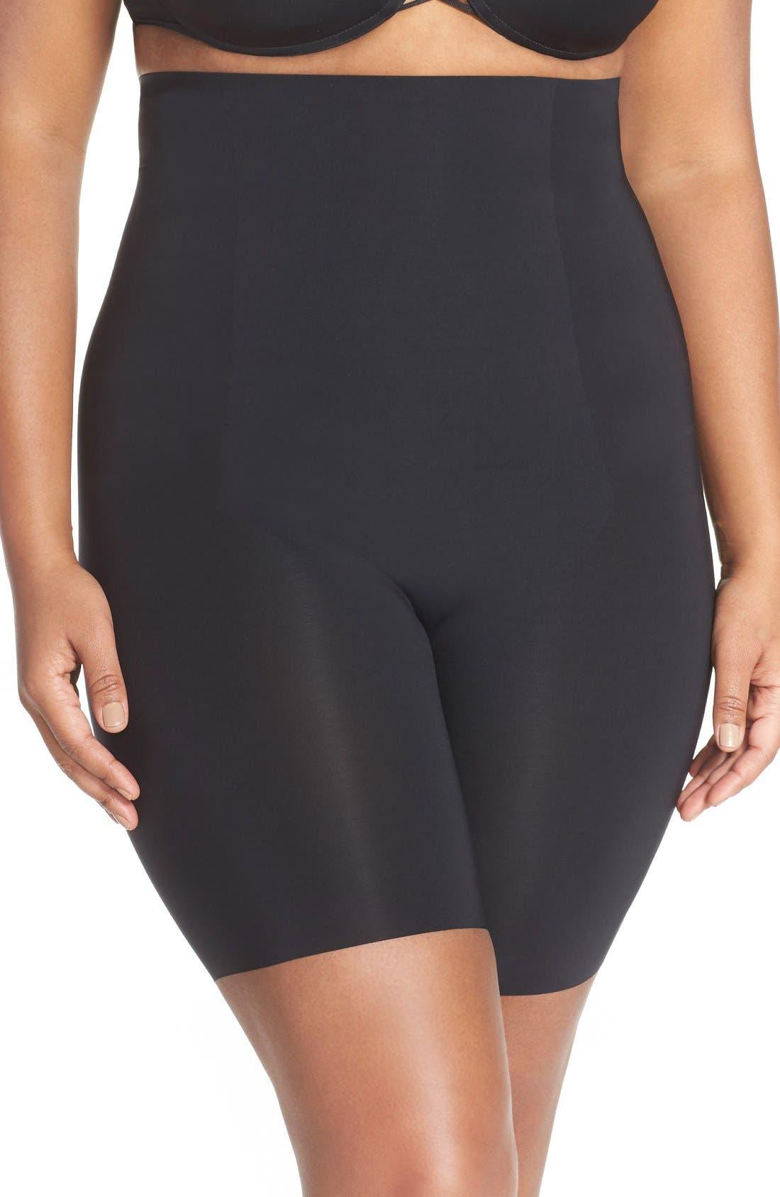 SPANX® Thinstincts™ High Waist Mid-Thigh Shorts (Plus Size)