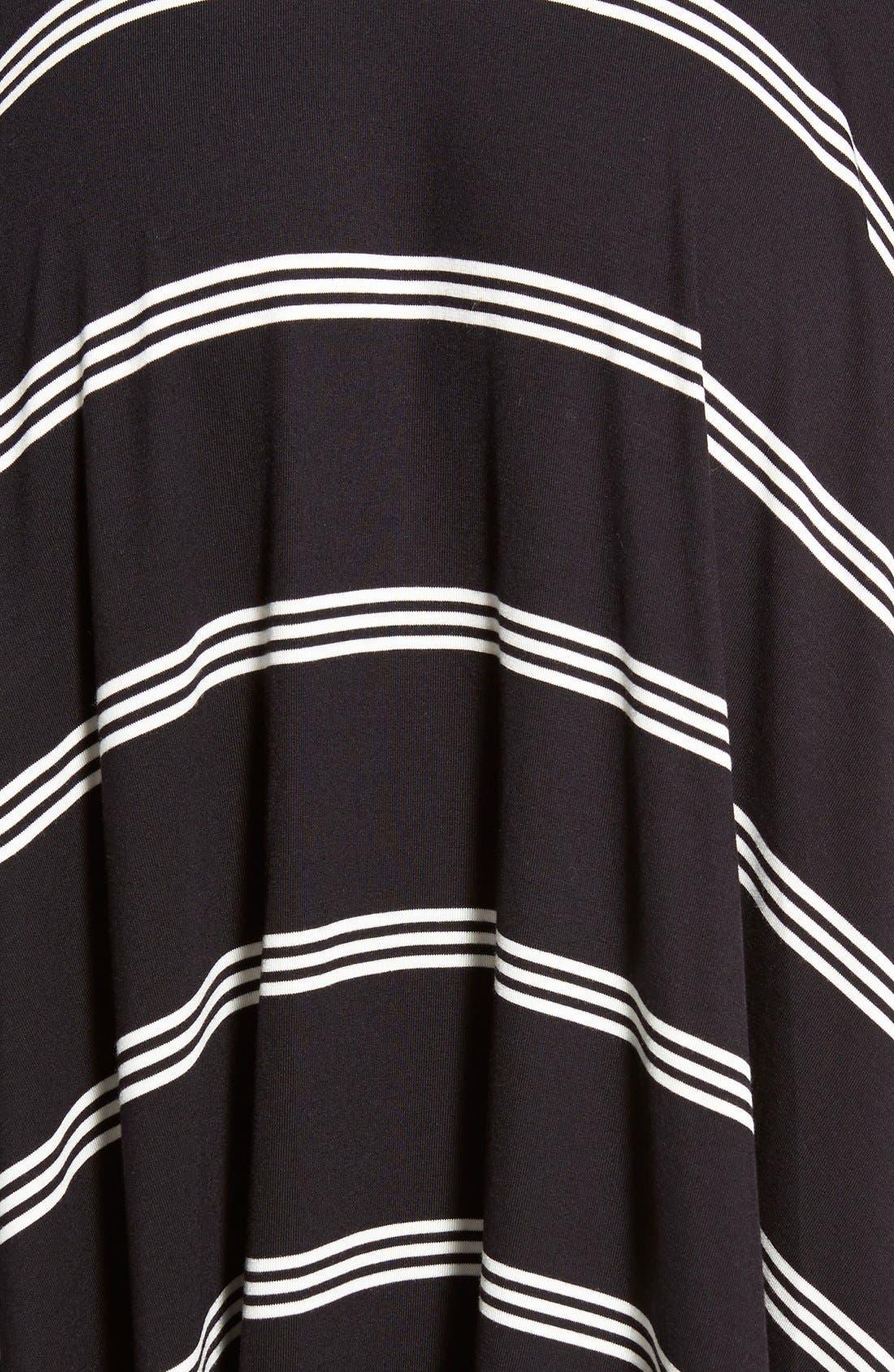 Alternate Image 5  - Halogen® Stretch Knit Handkerchief Hem Maxi Skirt (Regular & Petite)