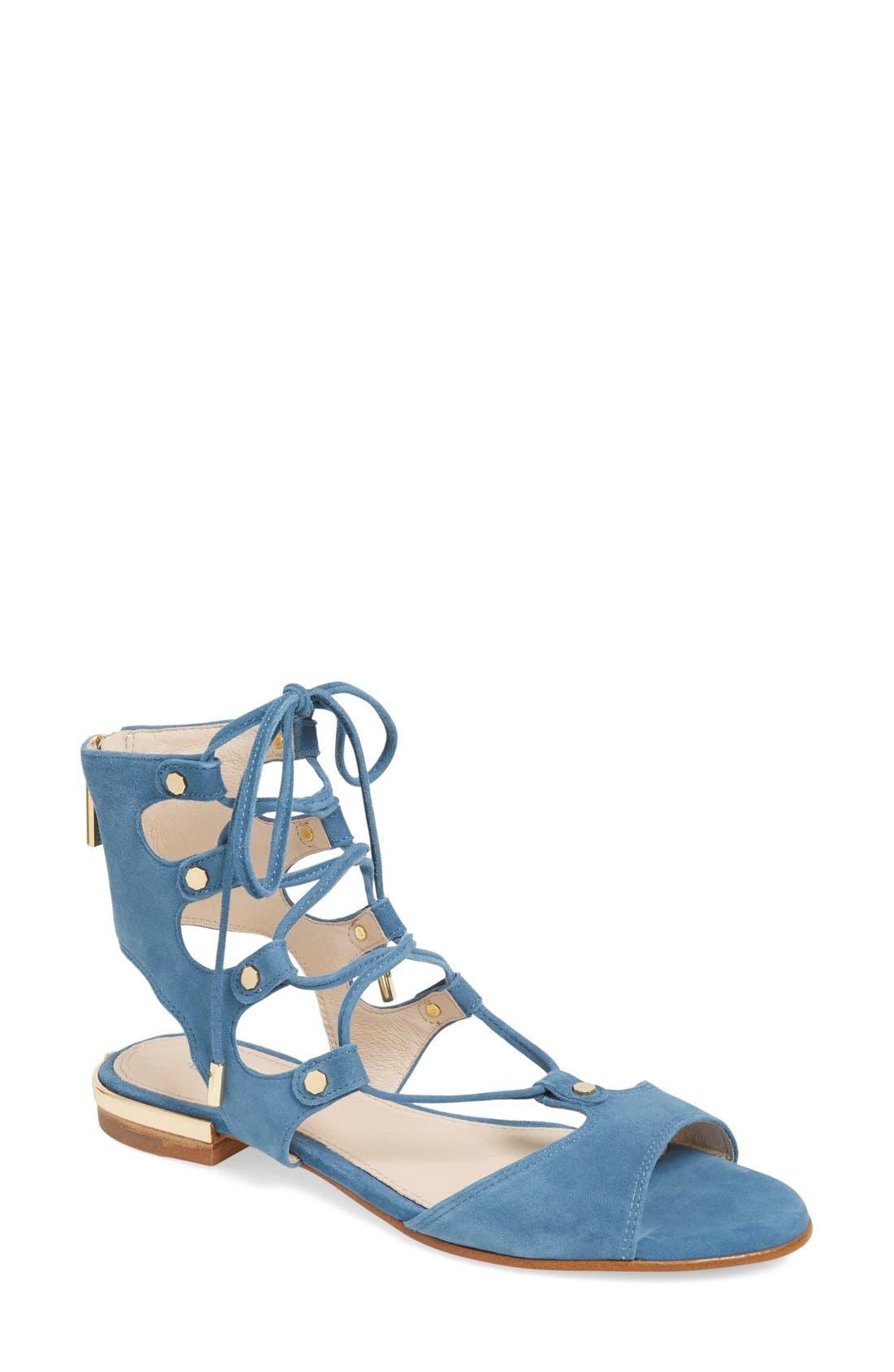 Alternate Image 1 Selected - Louise et Cie 'Ashlyn' Ghillie Sandal (Women)