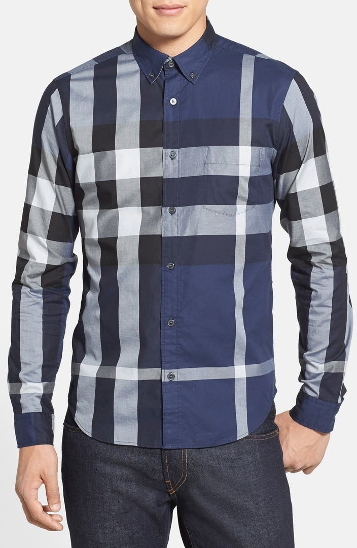 Burberry clothing for men nordstrom for Where are burberry shirts made
