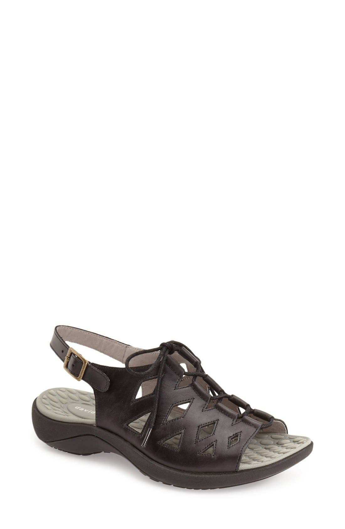 David Tate 'Dallas' Tie Sandal (Women)