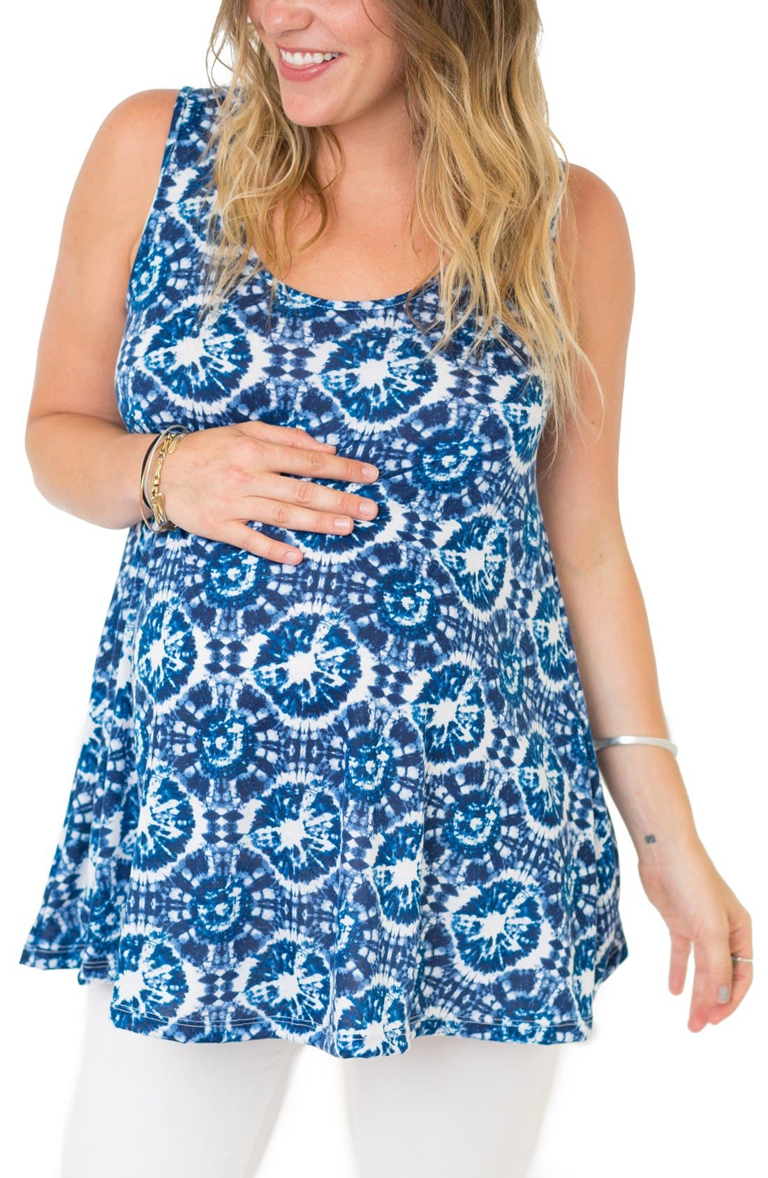 Alternate Image 1 Selected - Nom Maternity 'Wesley' Maternity Tank