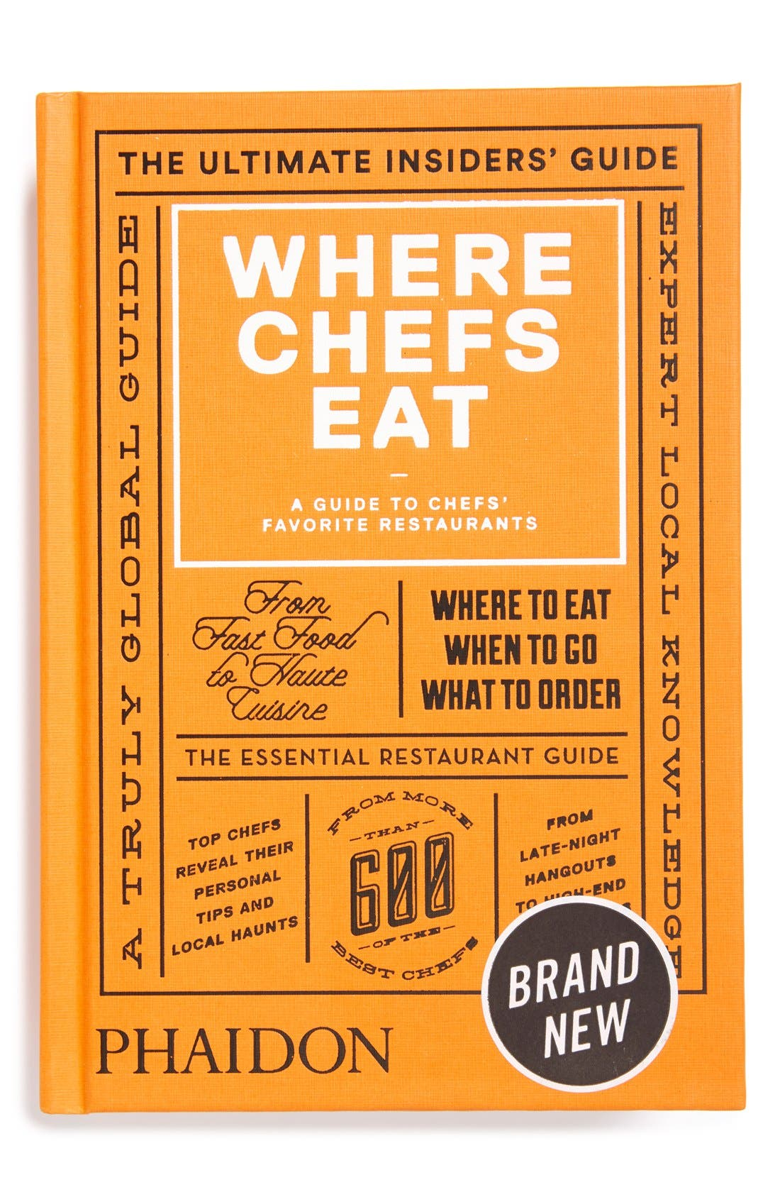 Alternate Image 1 Selected - 'Where Chefs Eat' Guide Book