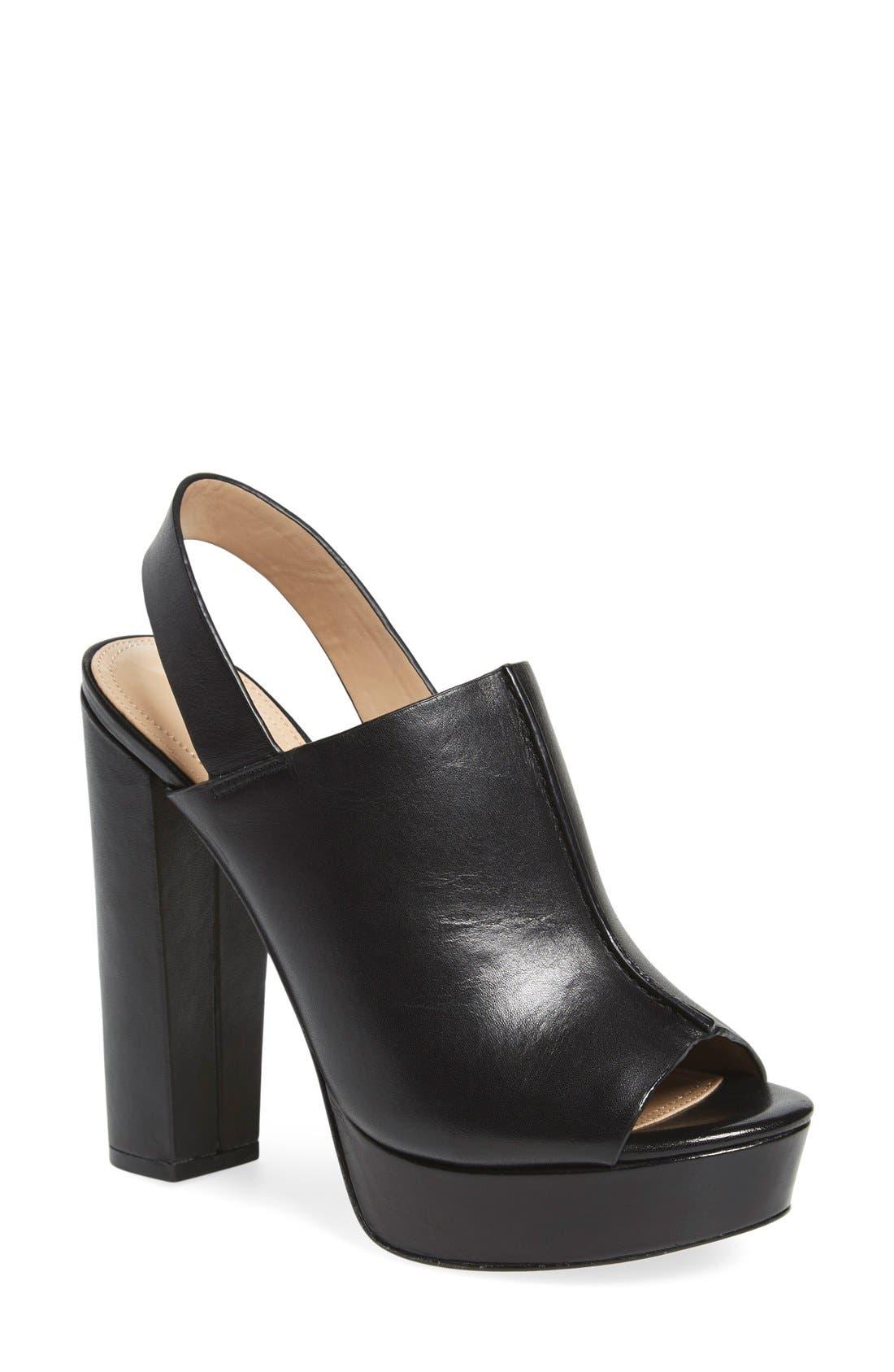 Main Image - BCBGMAXAZRIA 'Dune' Platform Sandal (Women)