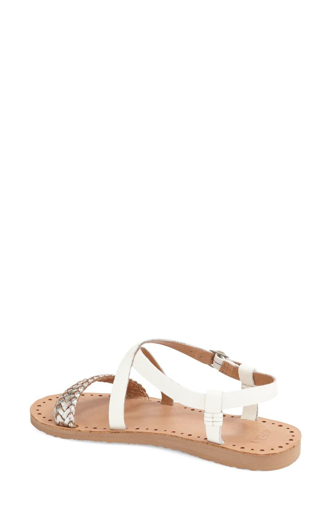 Alternate Image 2  - UGG® 'Jordyne' Sandal (Women)