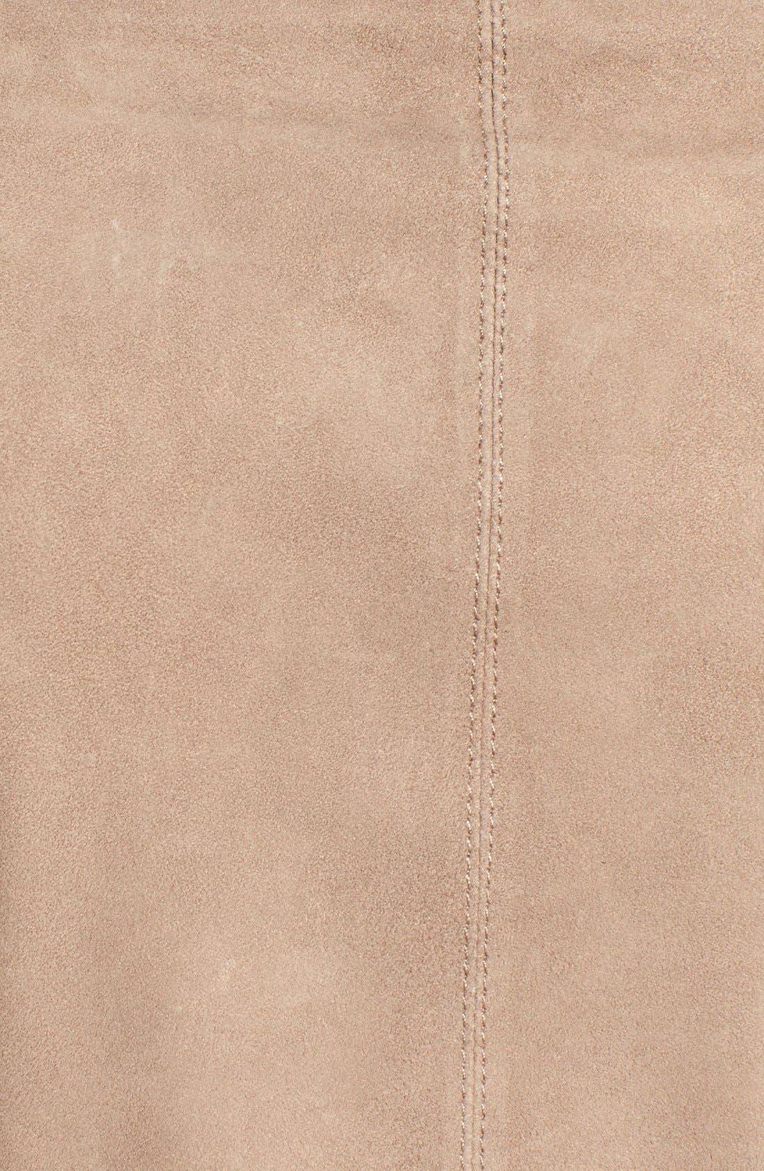 Alternate Image 5  - LAMARQUE Double Collar Suede Jacket
