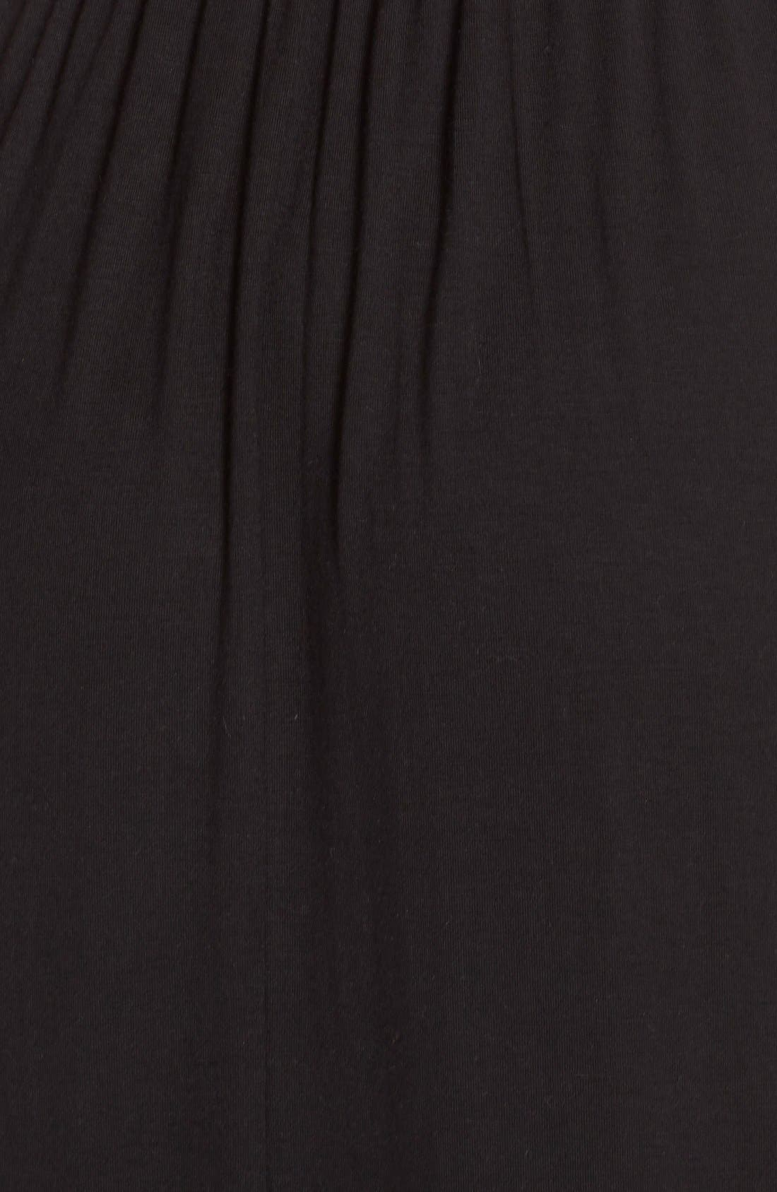 Alternate Image 5  - Surf Gypsy Crochet Back Jersey Cover-Up Maxi Dress