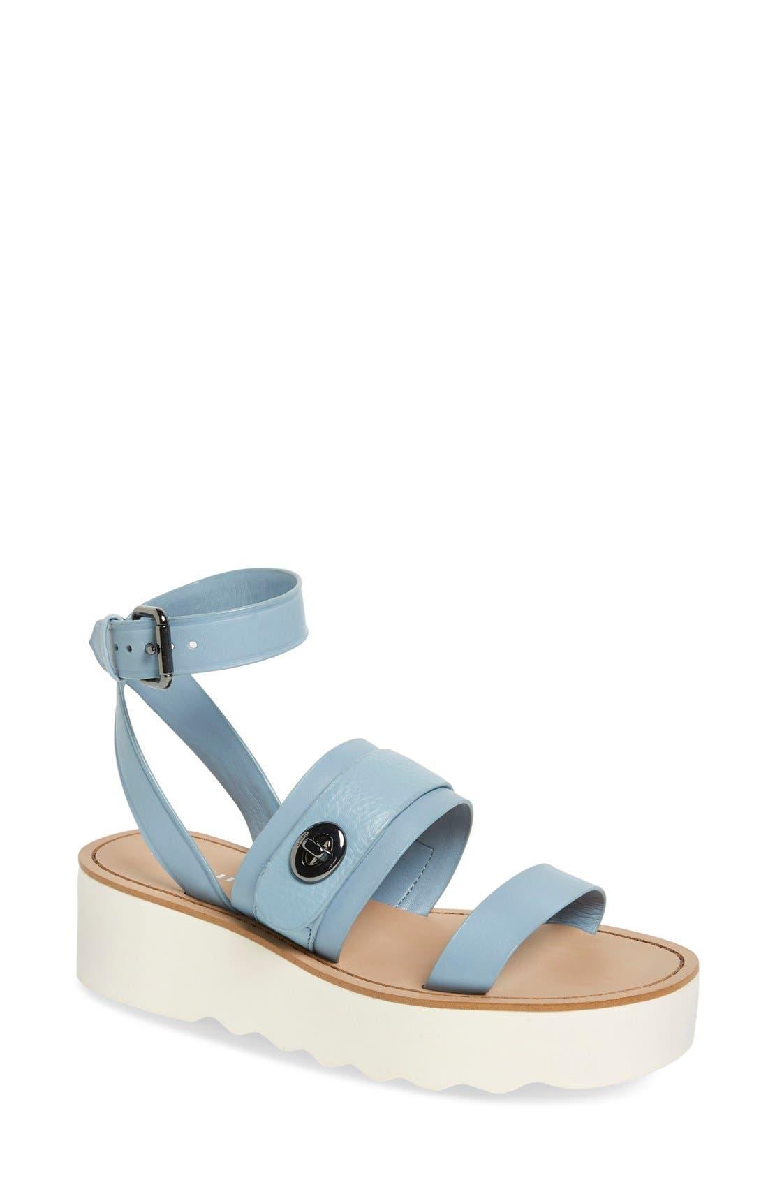 COACH 'Platt' Platform Sandal (Women)