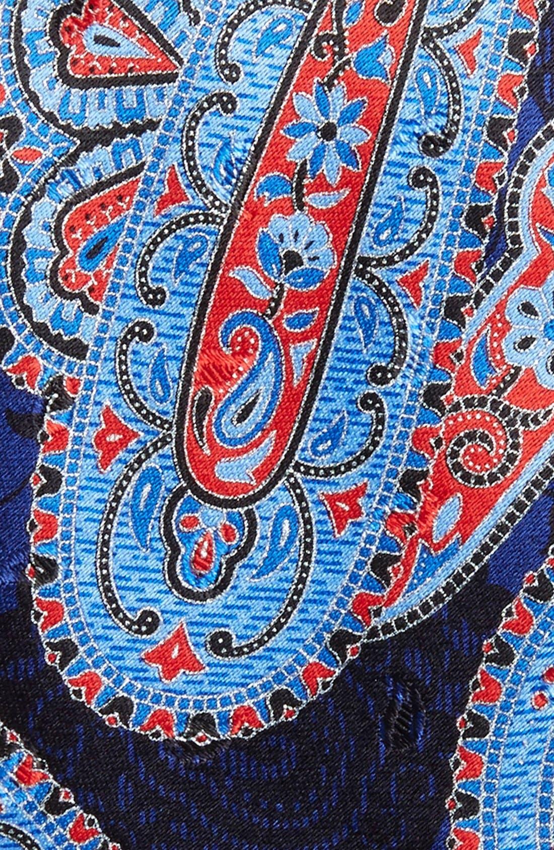 Alternate Image 2  - Ermenegildo Zegna Paisley Silk Tie
