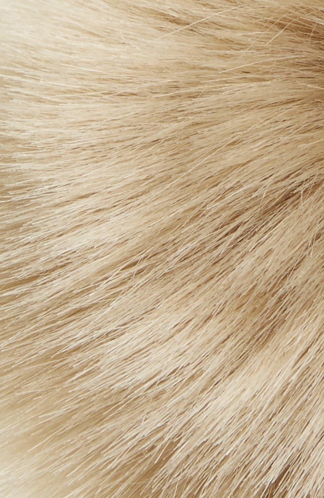 Alternate Image 2  - Shinhwa Faux Fur Pom Keychain
