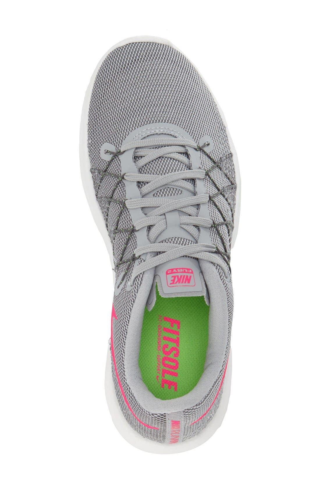 Alternate Image 3  - Nike 'Flex Fury 2' Running Shoe (Women)