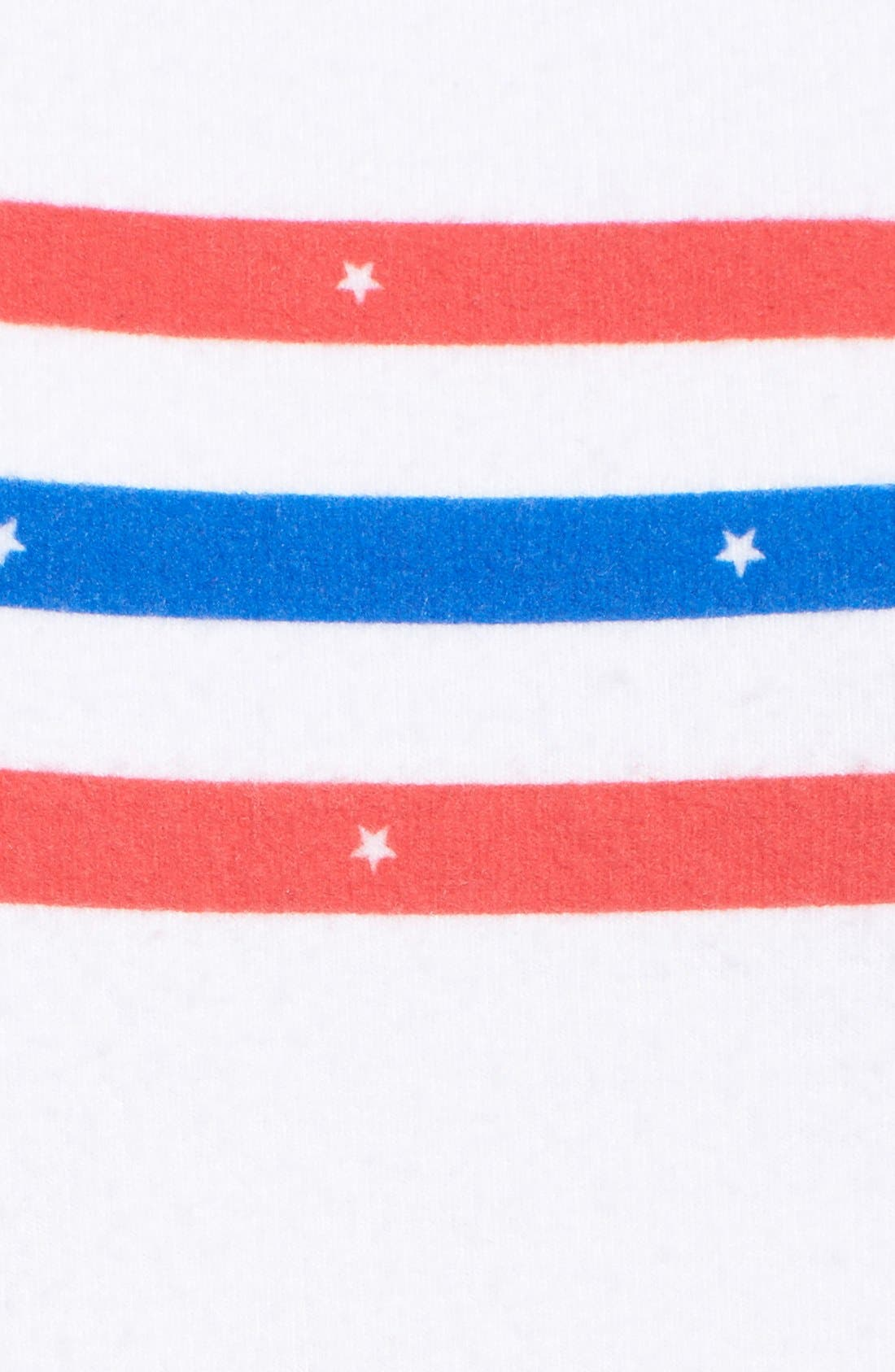 Alternate Image 5  - Wildfox 'US Gladiator' Stripe Pullover