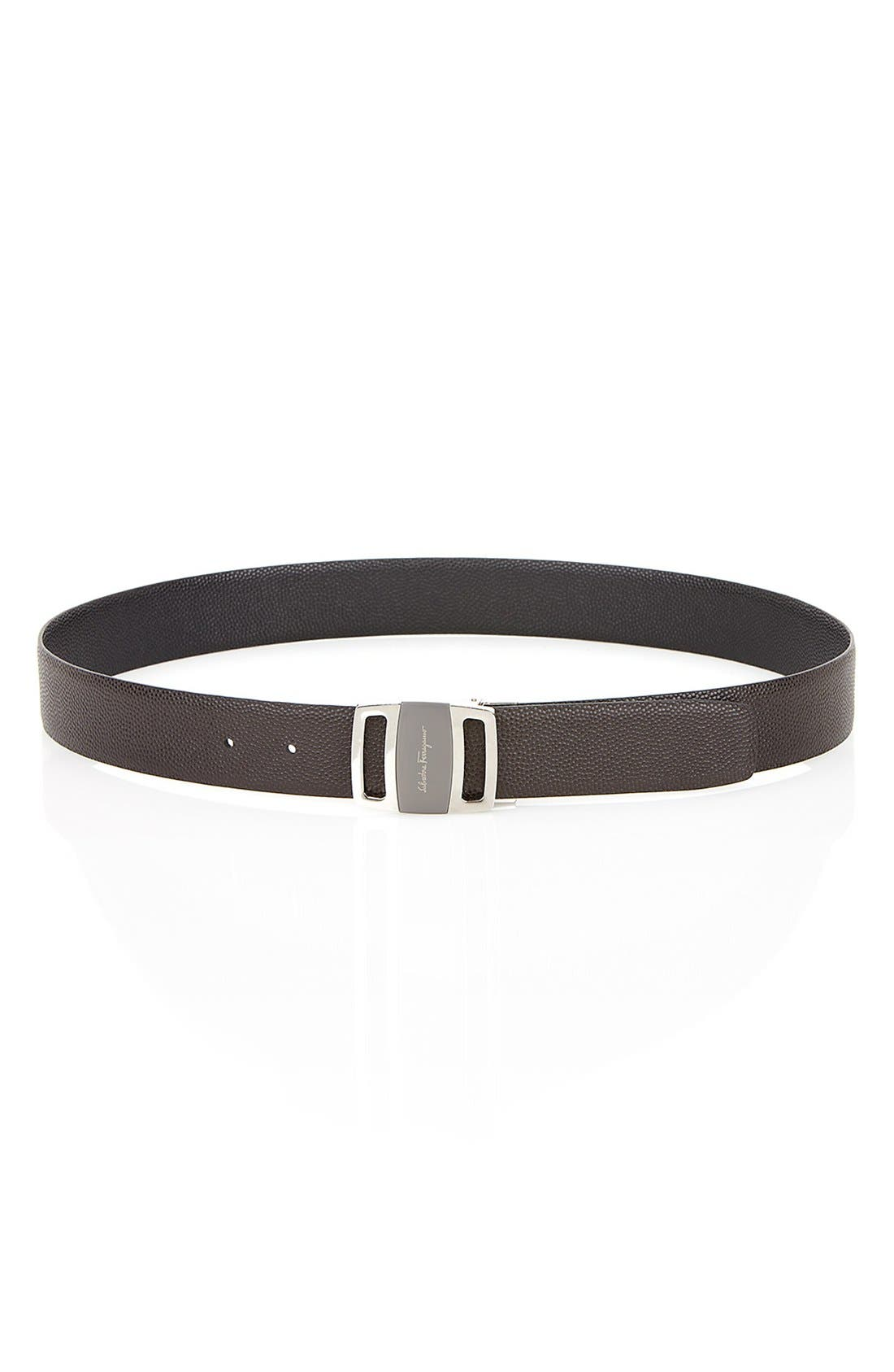 Alternate Image 7  - Salvatore Ferragamo Reversible Leather Belt