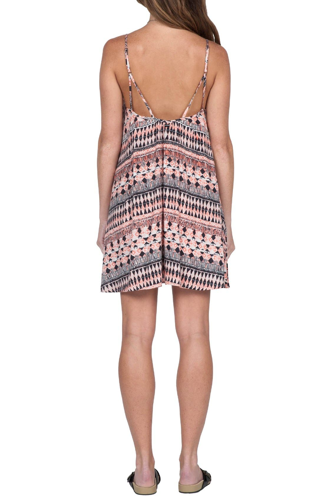 Alternate Image 2  - Volcom 'Back For U' Print Camisole Dress