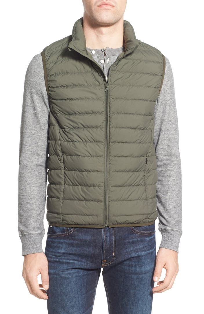 Nordstrom Men S Shop Packable Quilted Down Vest Nordstrom