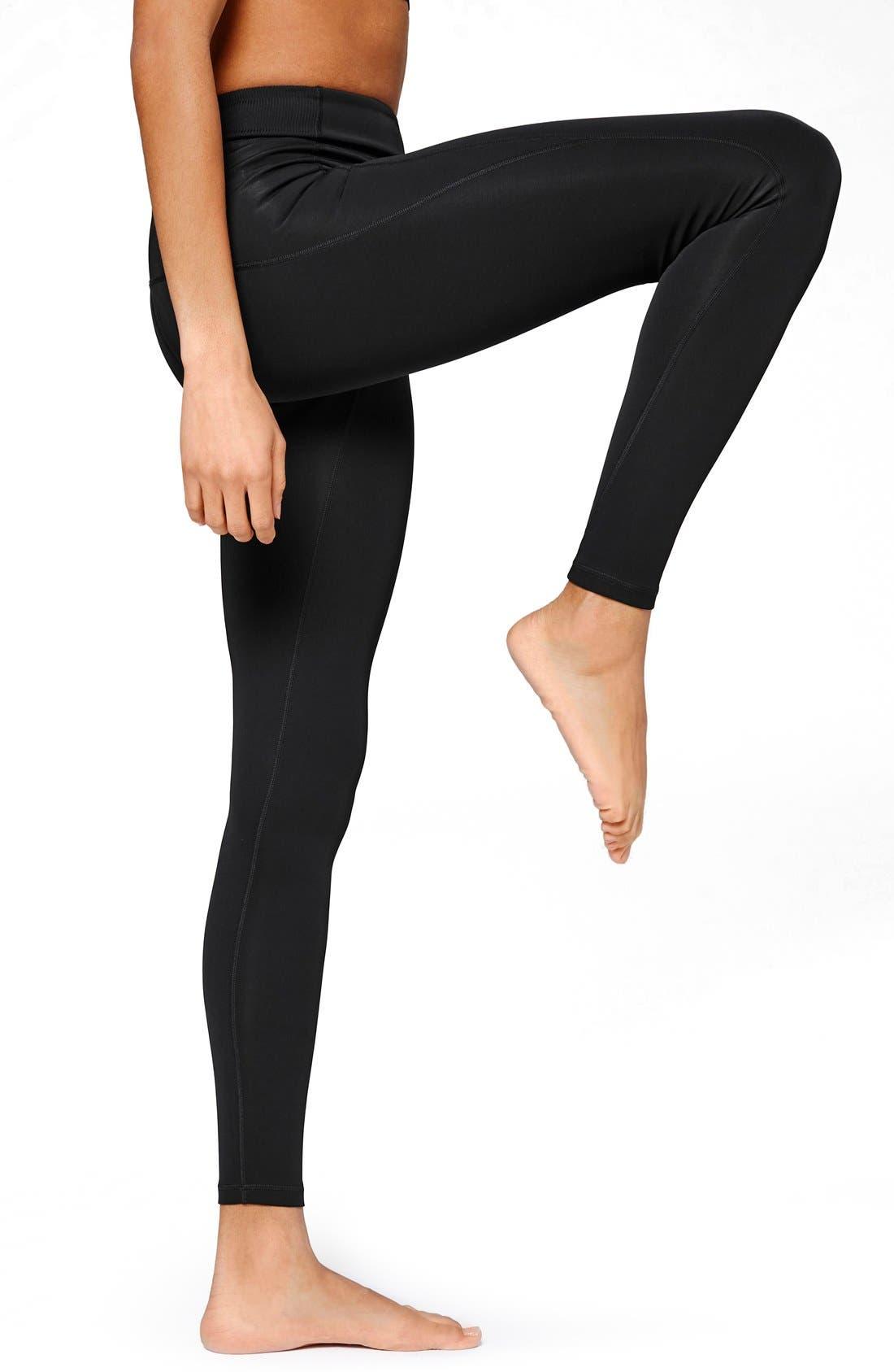 Alternate Image 1 Selected - IVY PARK® 'Y' High Rise Leggings