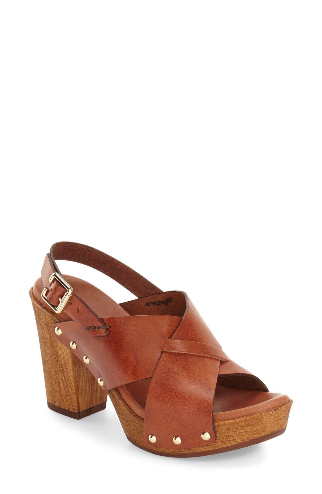 Alternate Image 1 Selected - Kenneth Cole New York 'Belle' Platform Sandal (Women)