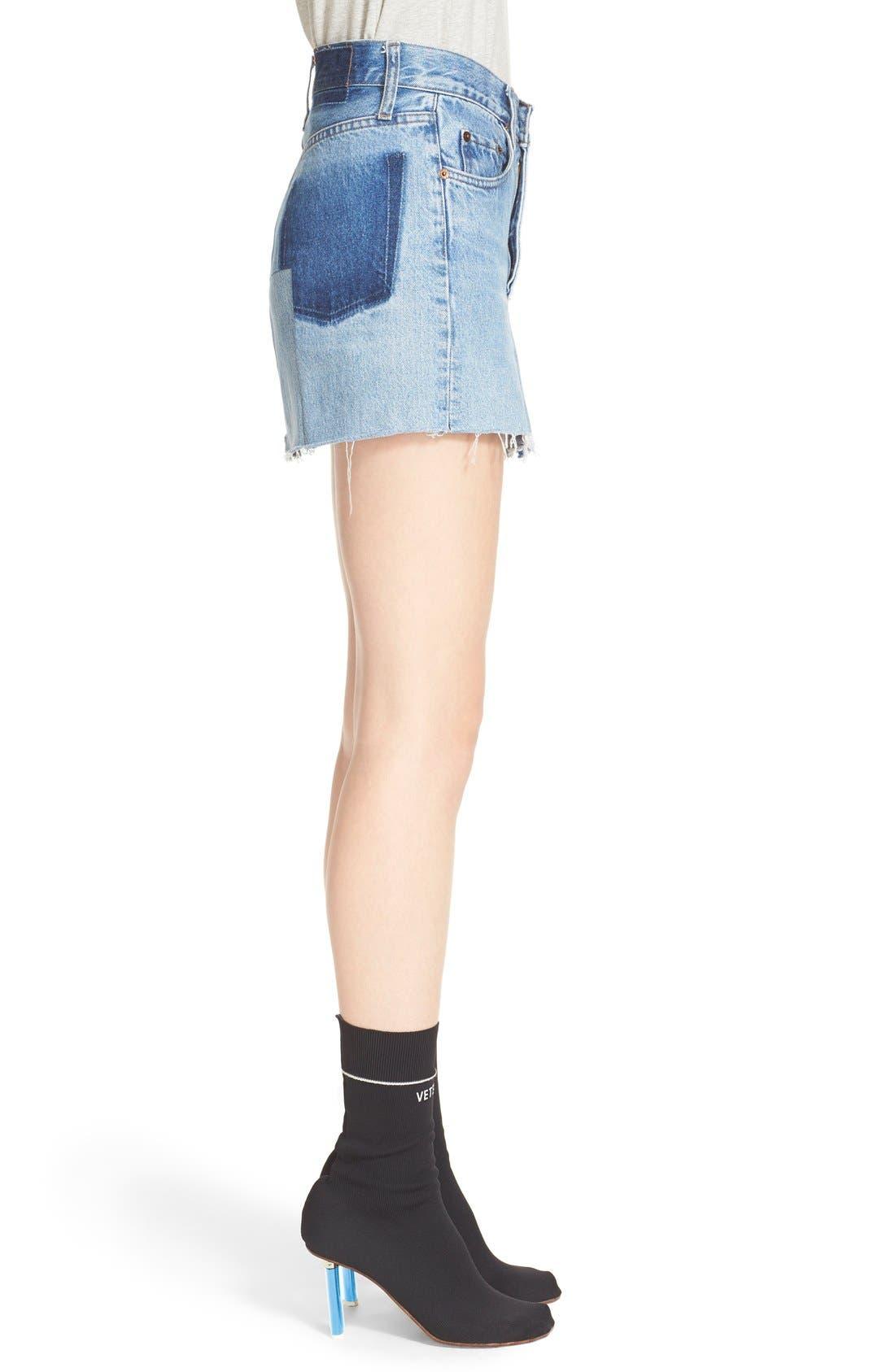 Alternate Image 6  - Vetements Denim Mini Skirt