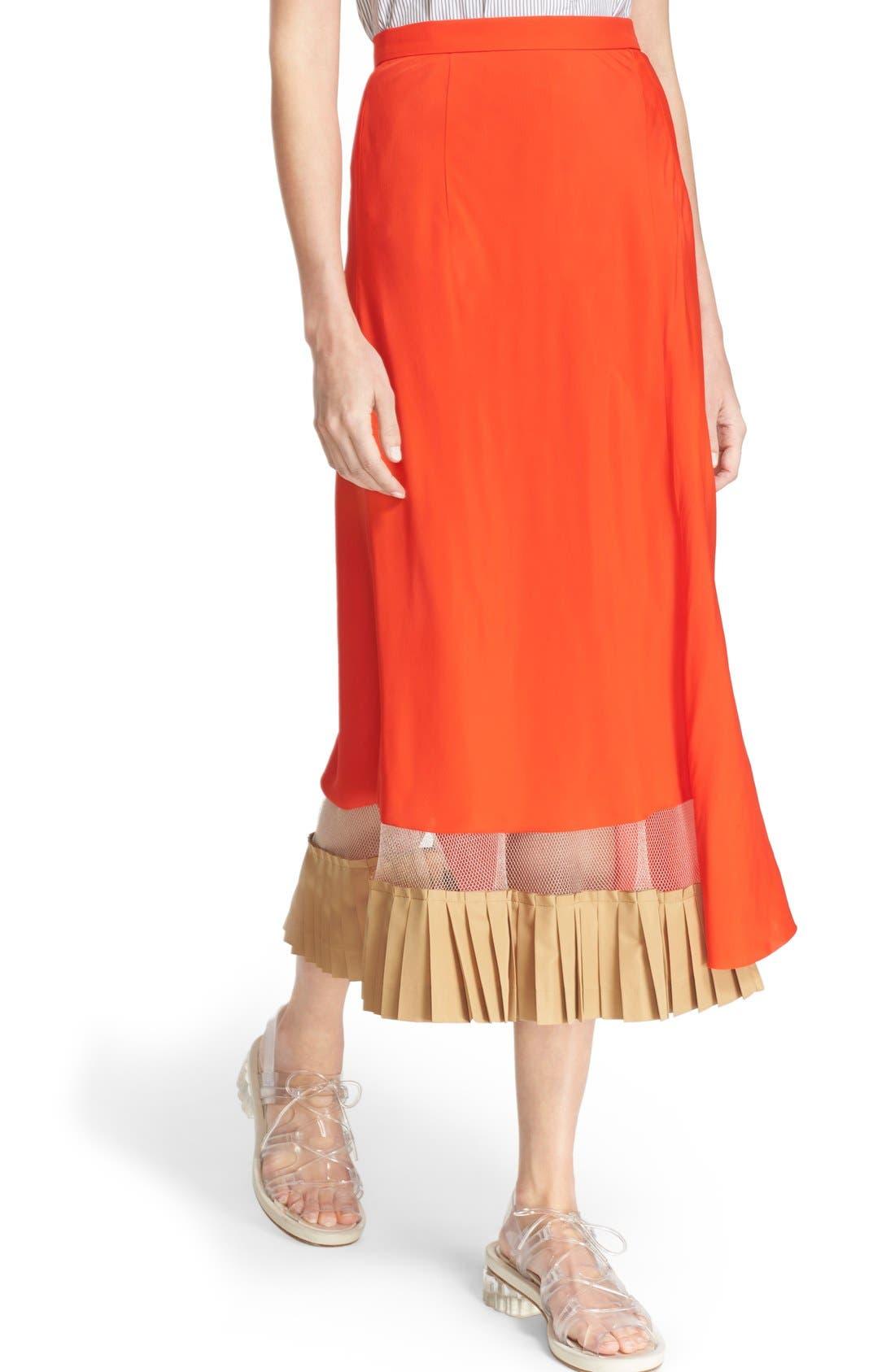 Alternate Image 6  - TOGA Asymmetrical Illusion Hem Skirt
