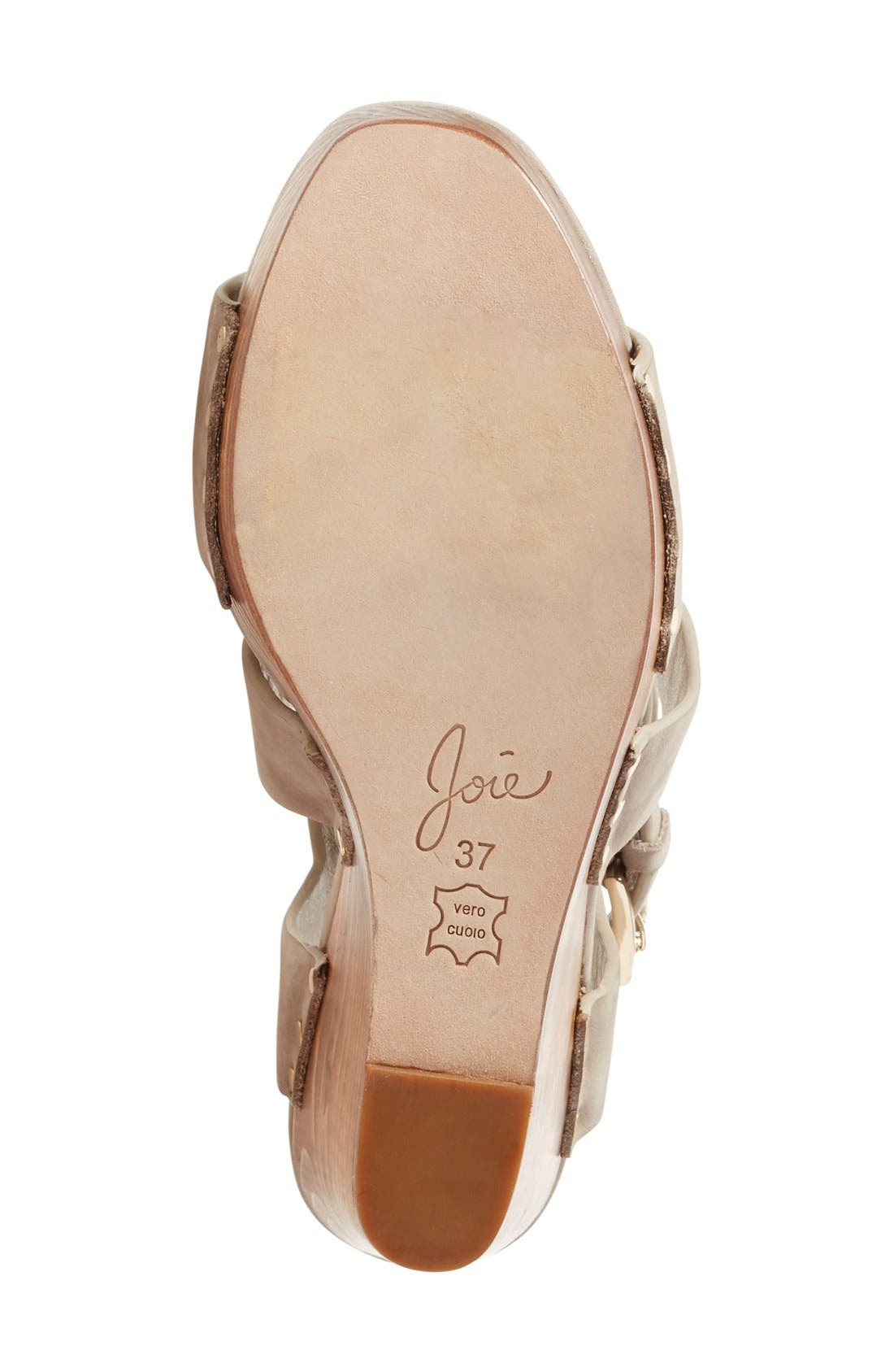 Alternate Image 4  - Joie 'Cecilia' Wedge Sandal (Women)