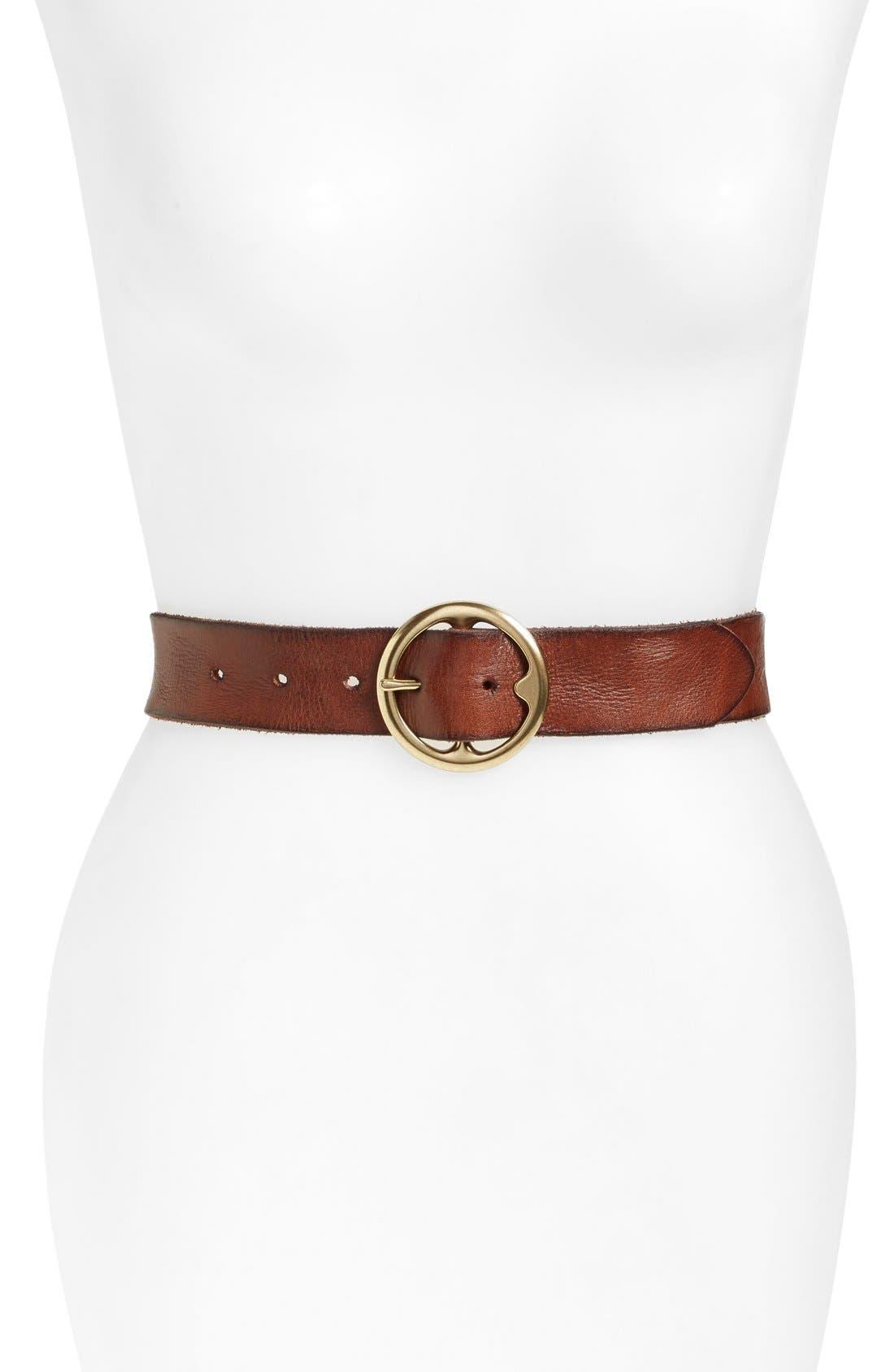 Treasure & Bond Washed Leather Belt