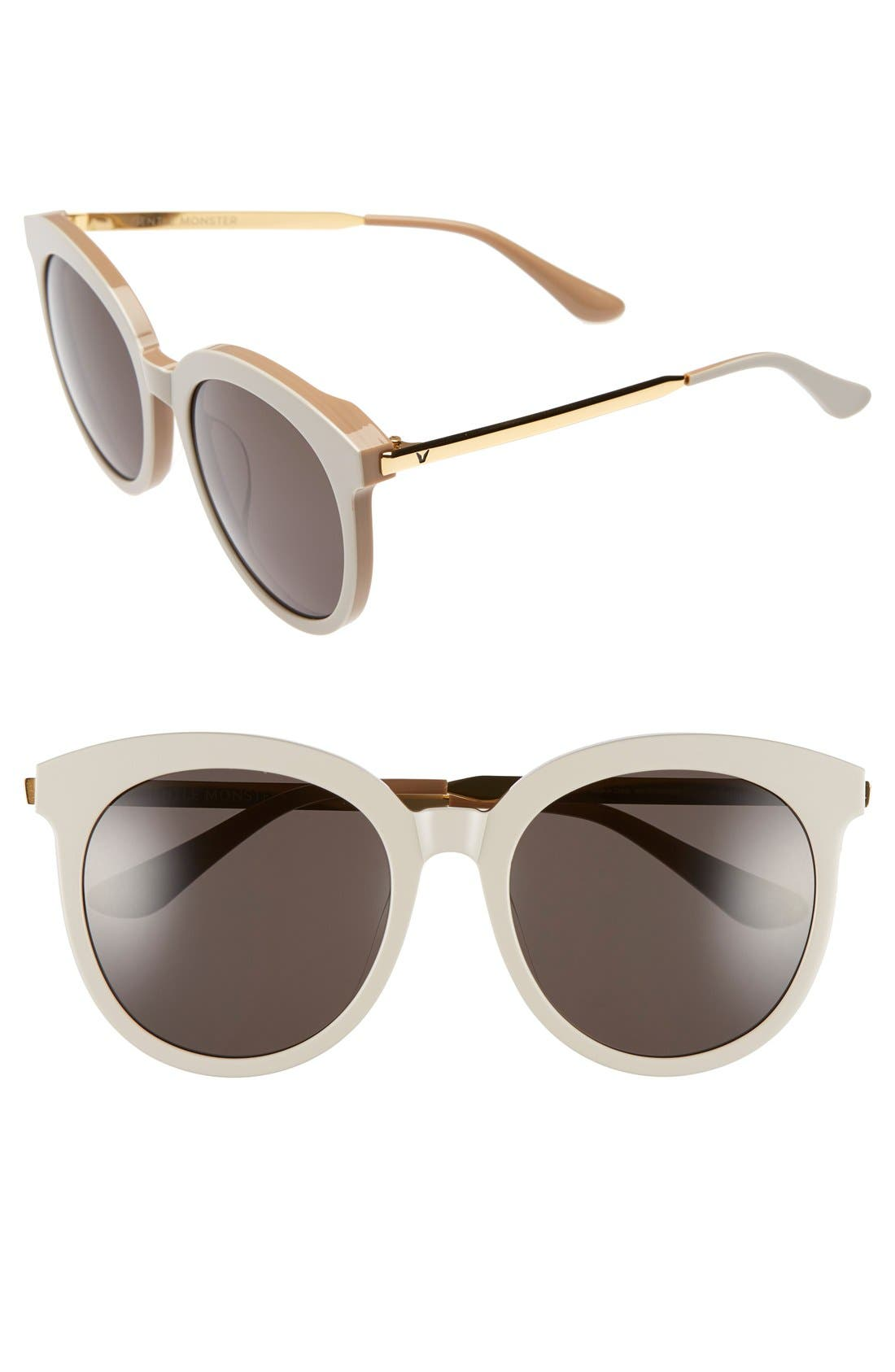 Main Image - Gentle Monster 56mm Round Sunglasses