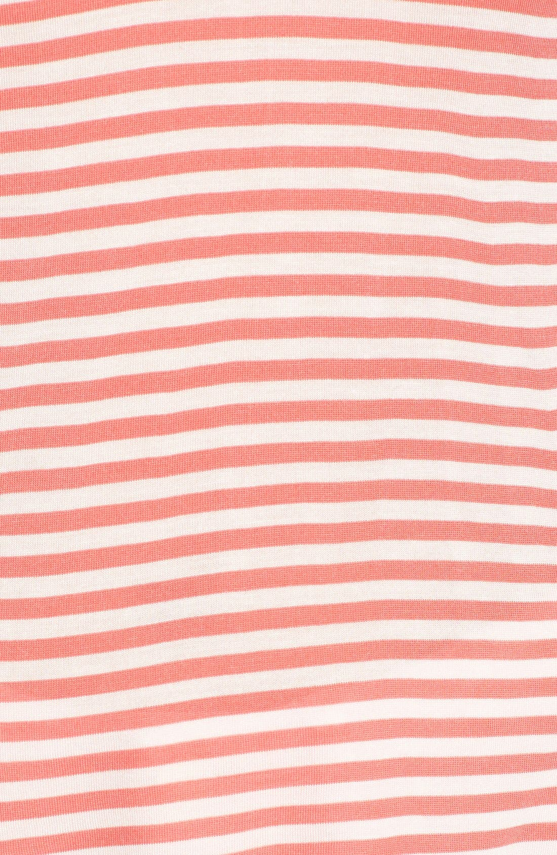 Alternate Image 5  - cupcakes and cashmere 'Wink' Stripe Scoop Neck Top