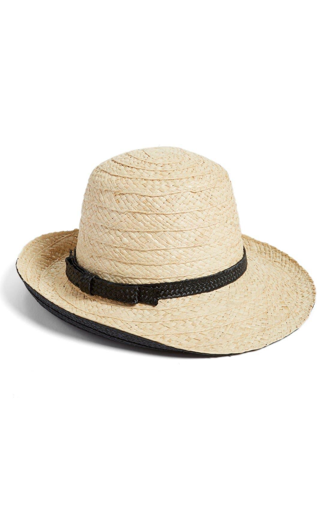 Alternate Image 1 Selected - kate spade new york asymmetrical sun hat