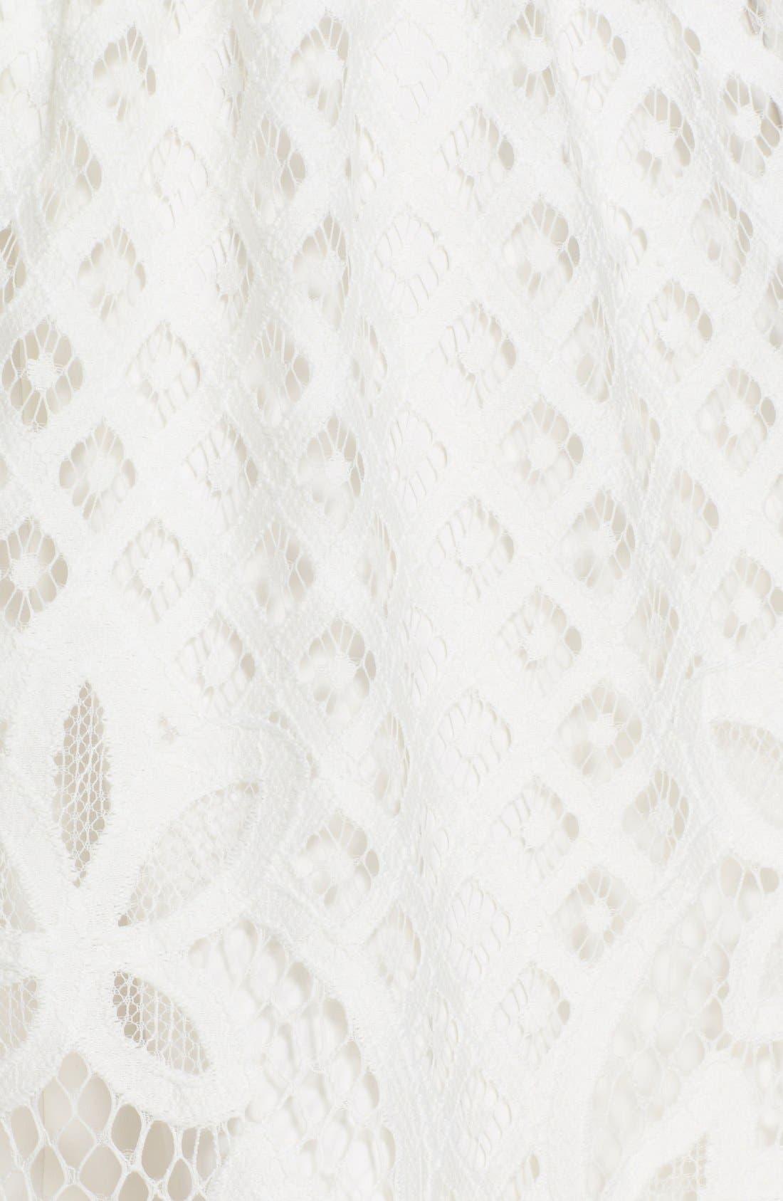 Alternate Image 5  - Parker 'Talulah' Lace Fit & Flare Dress