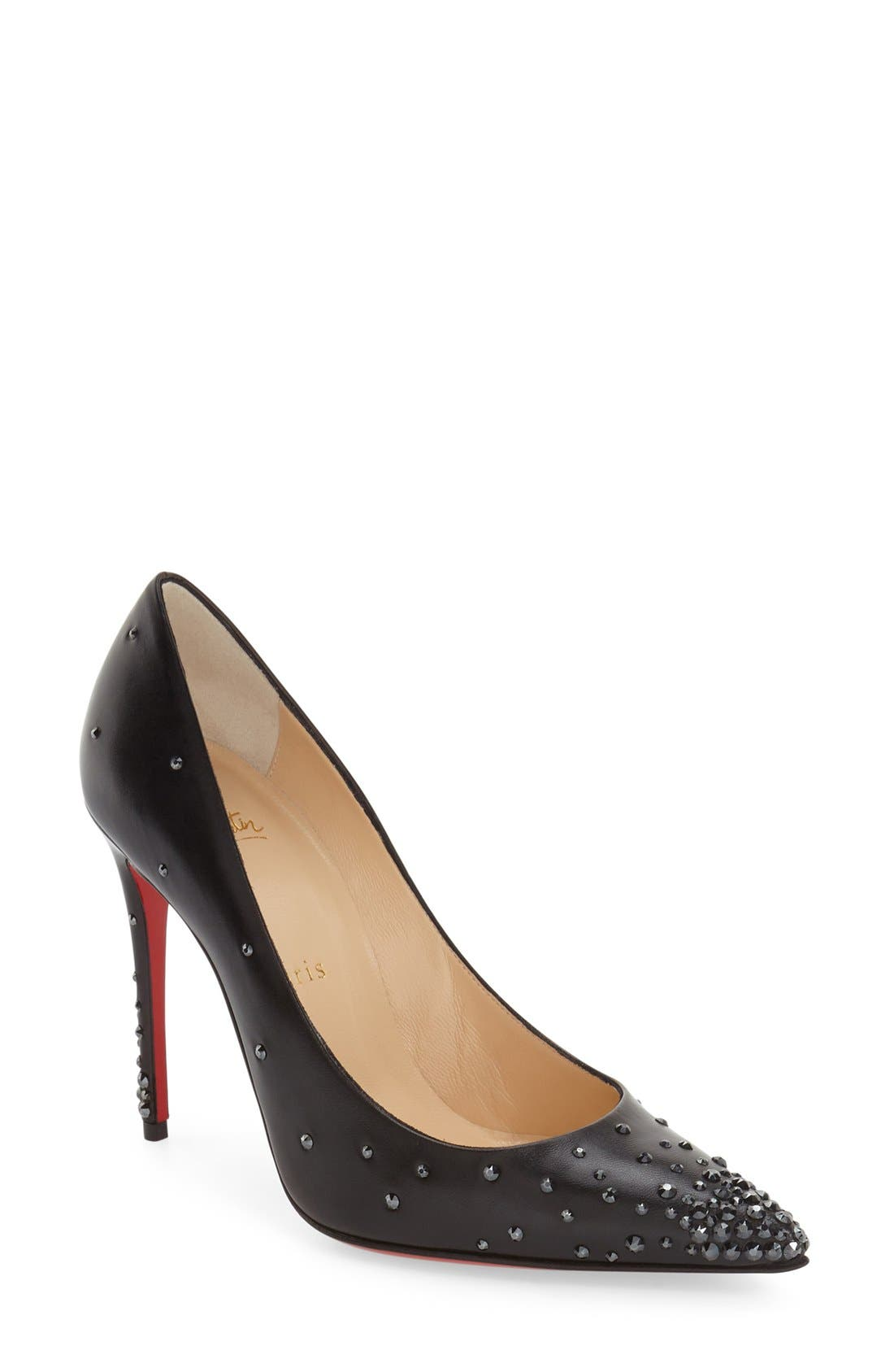CHRISTIAN LOUBOUTIN 'Degrastrass' Pointy Toe Pump