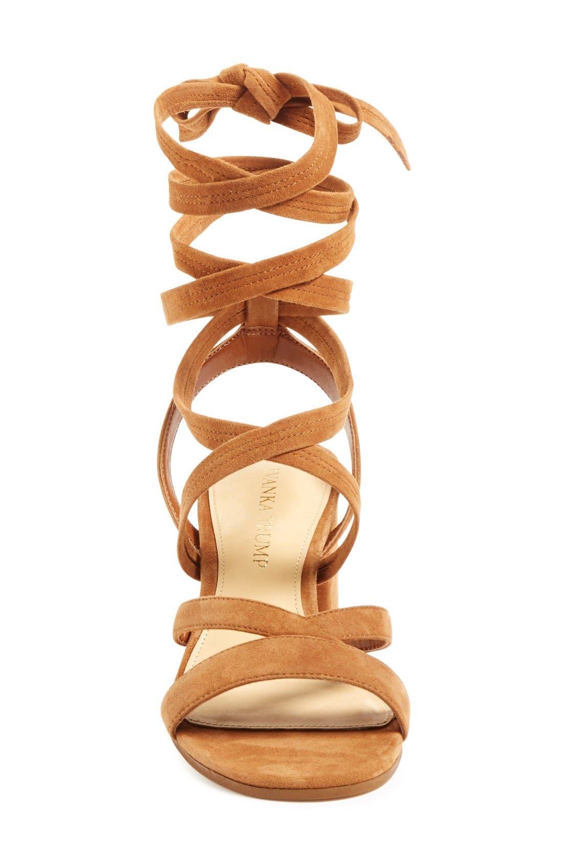 Alternate Image 3  - Ivanka Trump 'Ellyn' Lace-Up Sandal (Women)