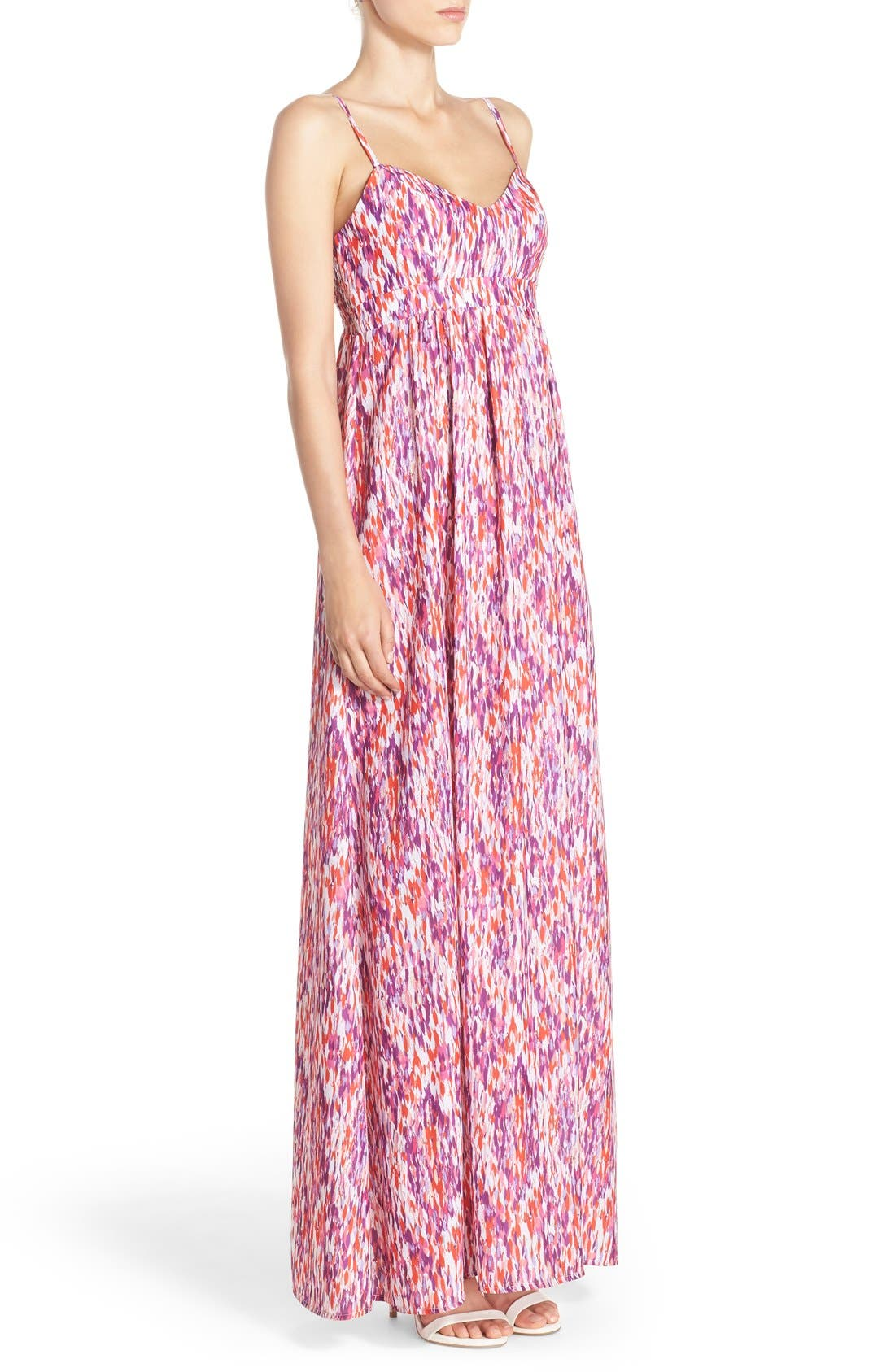 Alternate Image 4  - Felicity & Coco Woven Maxi Dress (Regular & Petite) (Nordstrom Exclusive)