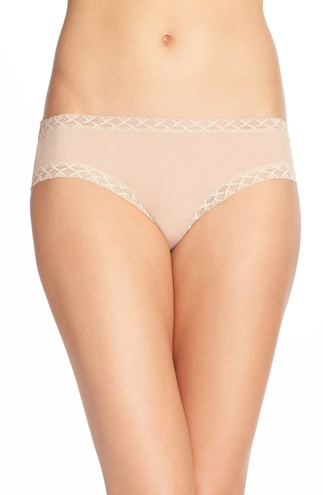 Natori Bliss Cotton Girl Briefs (3 for $45)