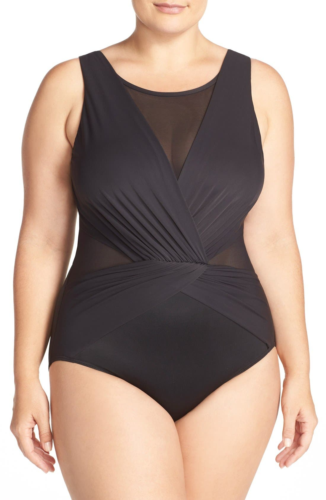 MIRACLESUIT® 'Solid Palma' One-Piece Swimsuit