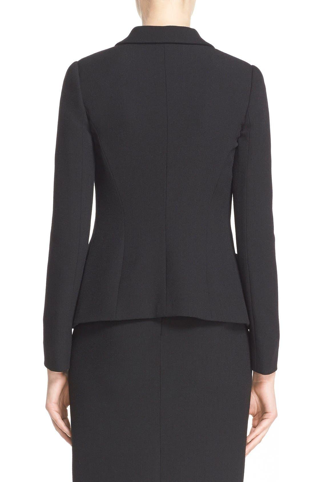 Alternate Image 2  - Armani Collezioni Two-Way Stretch Jacket
