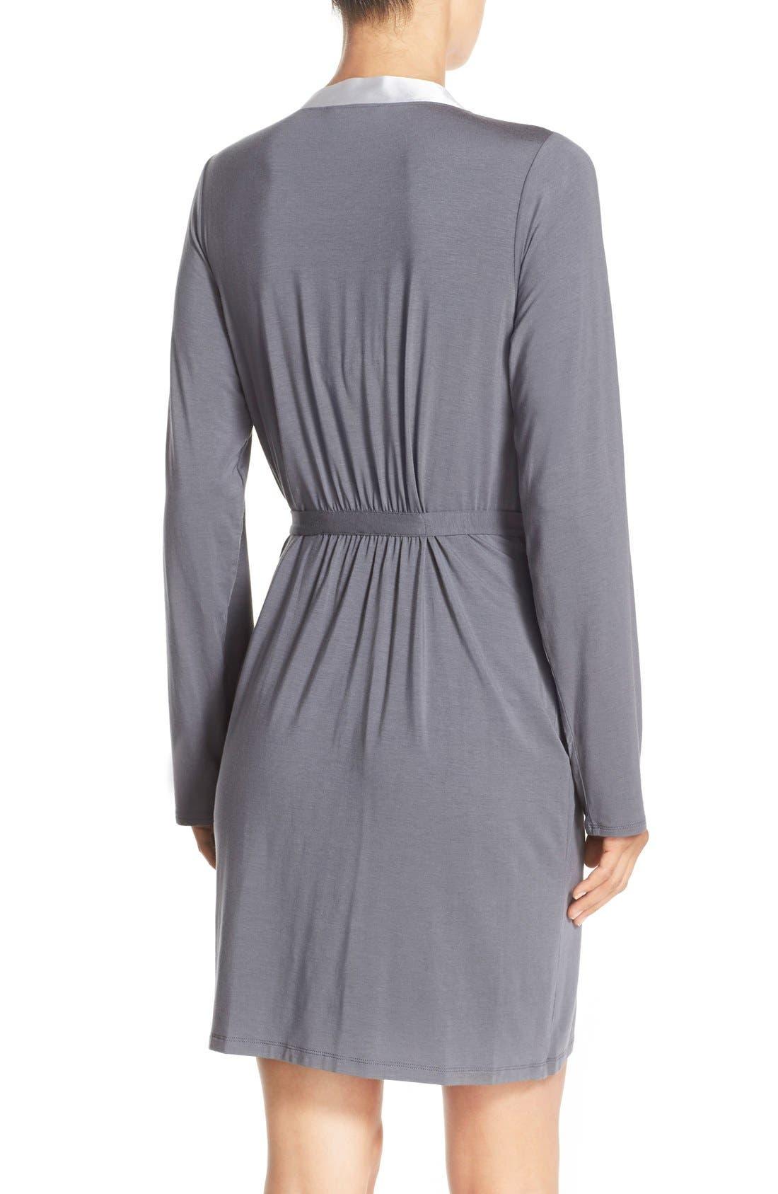 Alternate Image 2  - Calvin Klein 'Essentials' Short Robe