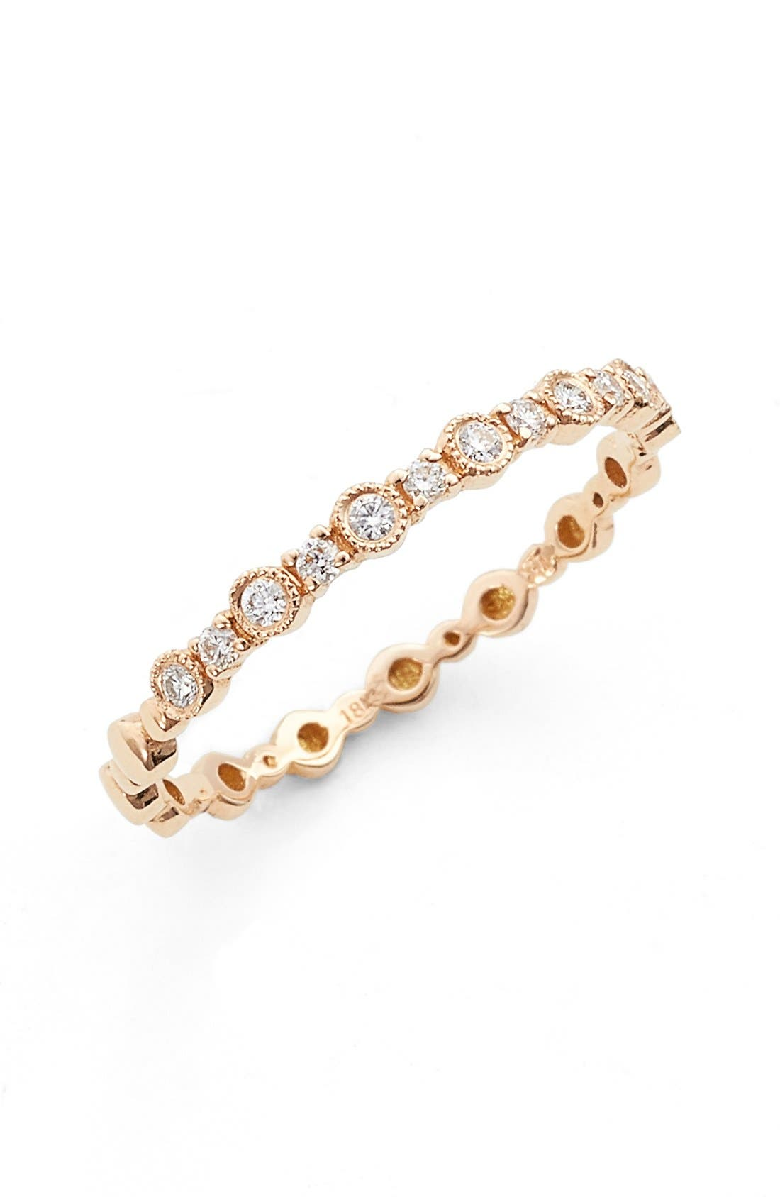 BONY LEVY 'Gianna' Diamond Stacking Ring