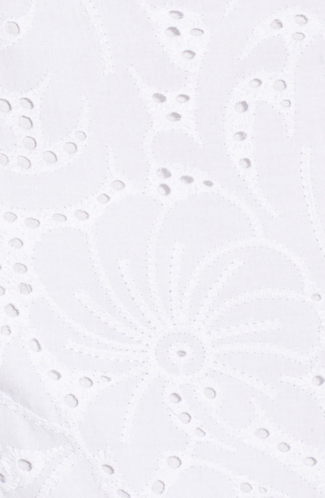 Alternate Image 5  - Rachel Antonoff 'Melissa' Cotton Eyelet Fit & Flare Dress