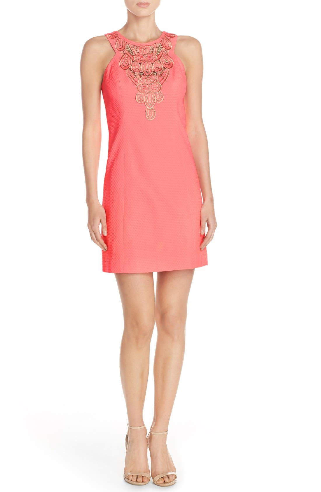 Alternate Image 4  - Lilly Pulitzer® 'Largo' Cotton Piqué Sheath Dress