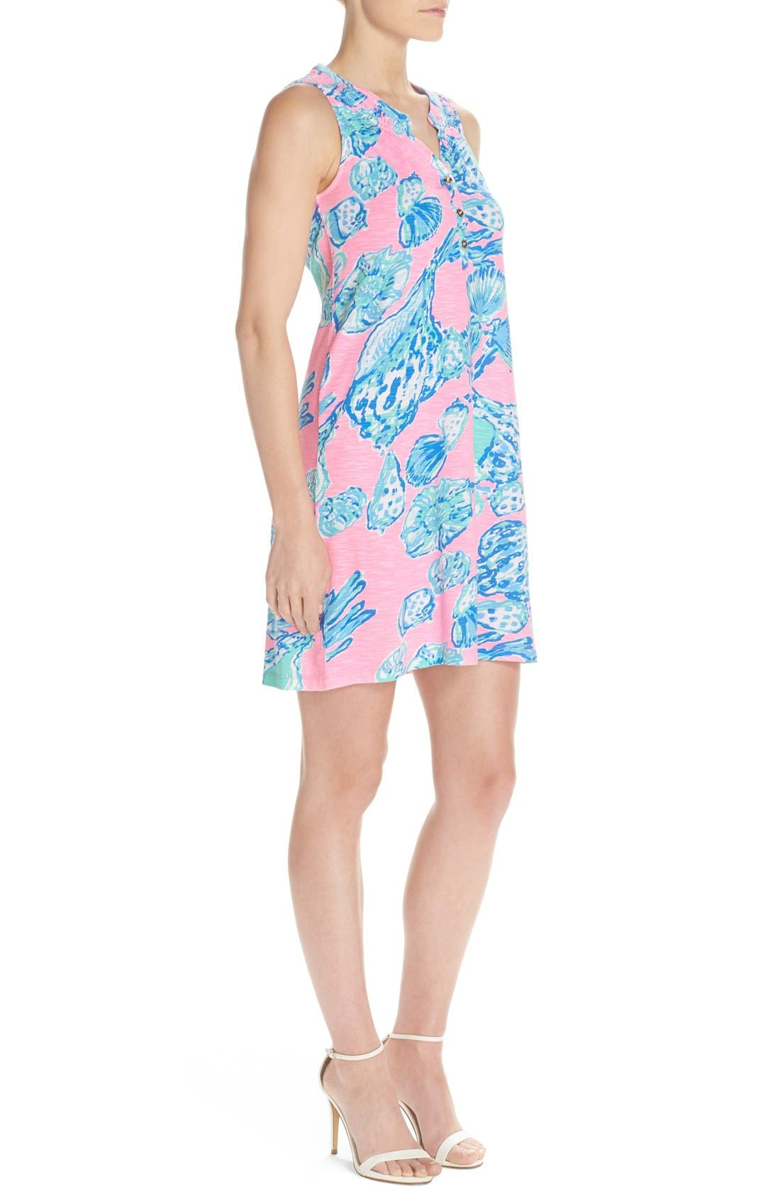 Alternate Image 3  - Lilly Pulitzer® 'Essie' Print Cotton & Modal A-Line Dress
