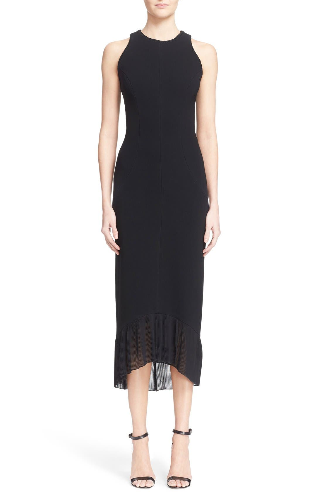 Alternate Image 1  - Victoria Beckham Crepe Sheath Dress