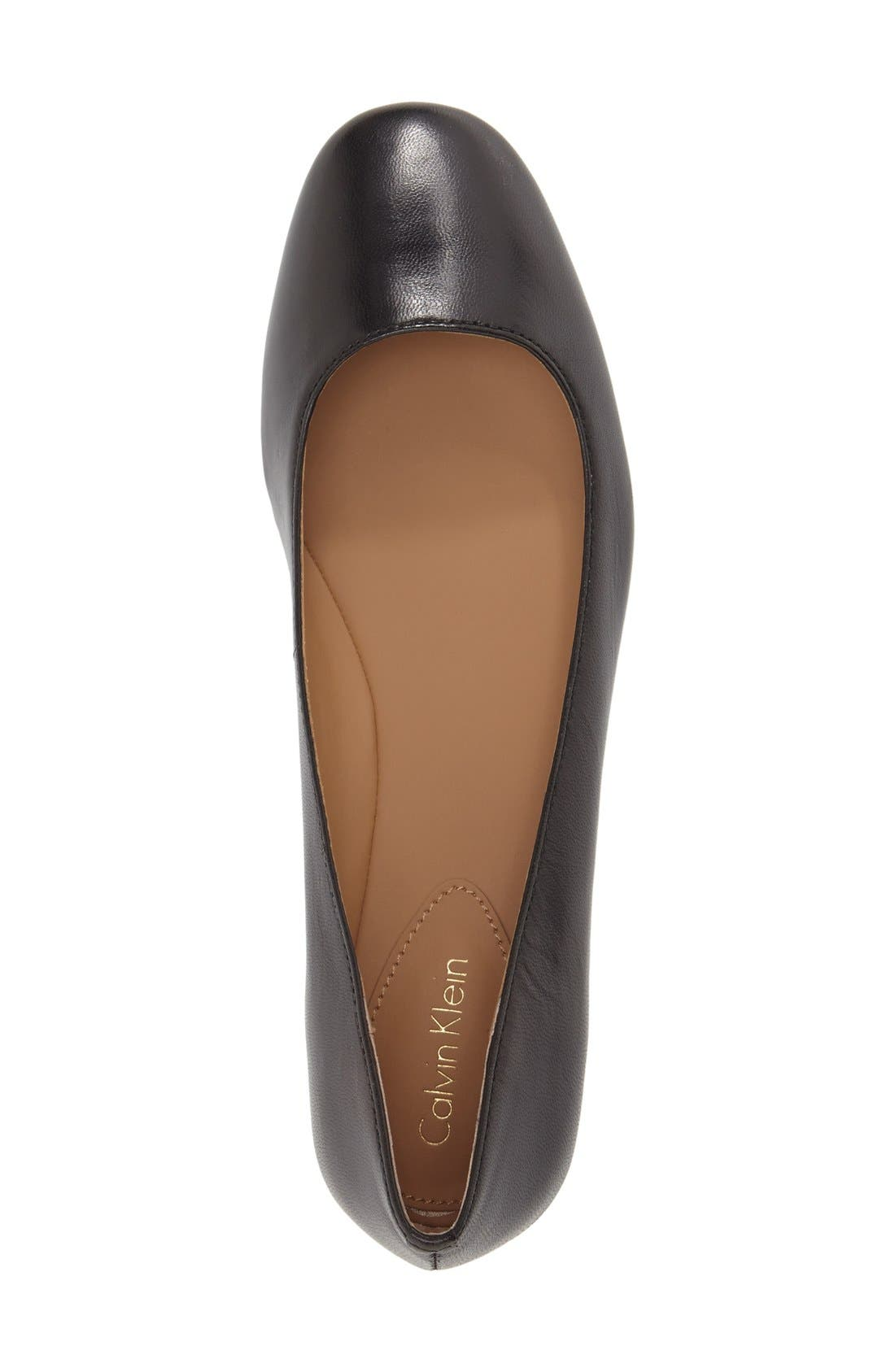 Alternate Image 3  - Calvin Klein 'Felice' Flat (Women)