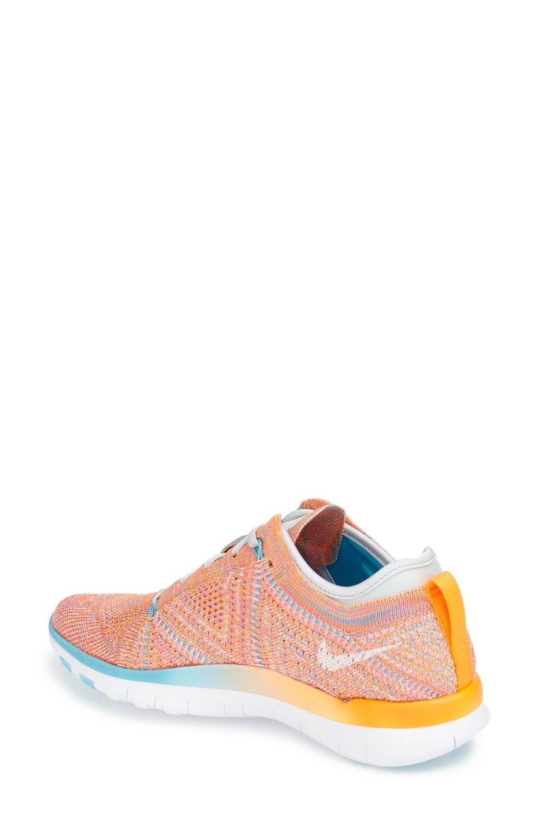 Alternate Image 2  - Nike 'Free Flyknit 5.0 TR' Training Shoe (Women)