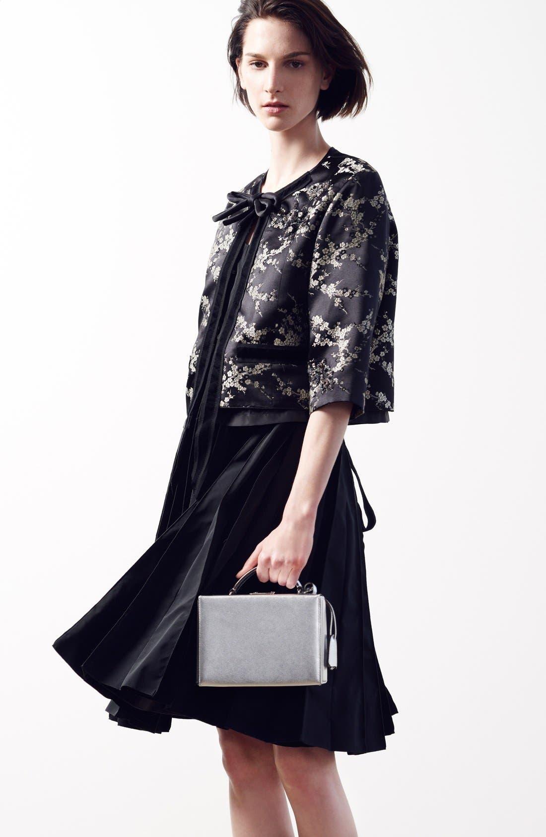 Alternate Image 6  - MARC JACOBS Pleated Sleeveless Fit & Flare Dress
