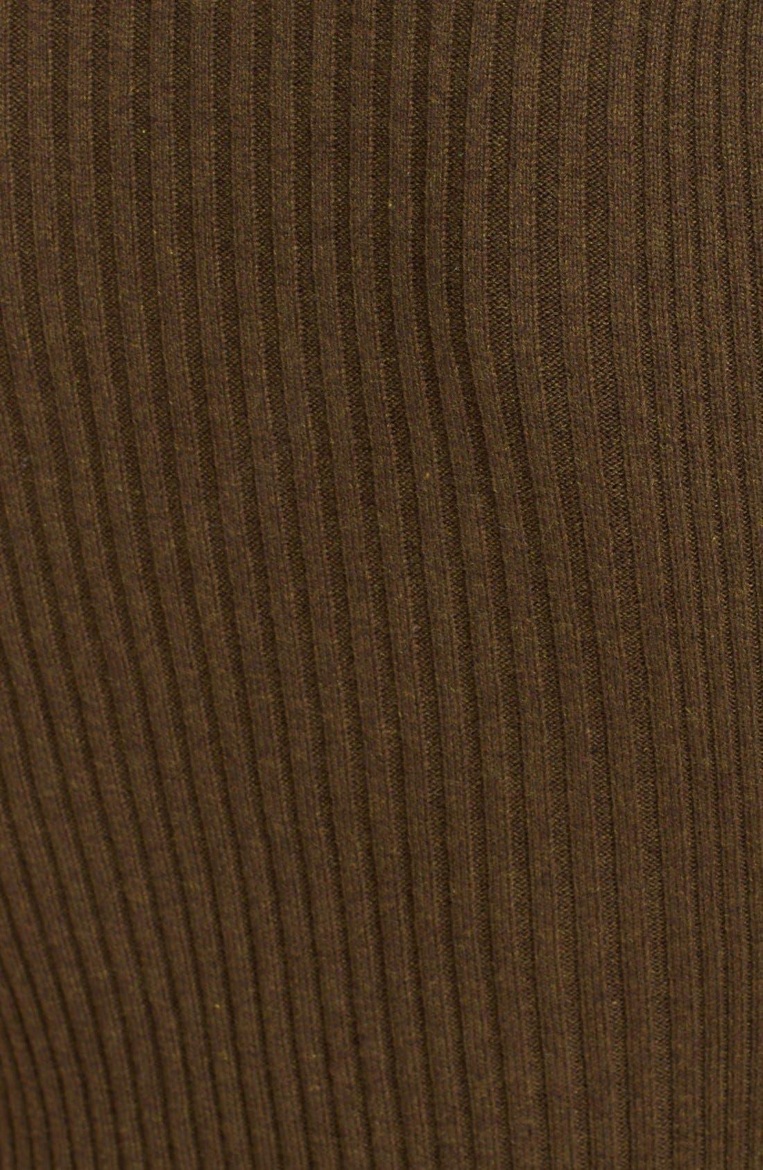 Alternate Image 5  - Free People 'Little Minx' Cotton Sweater & Miniskirt