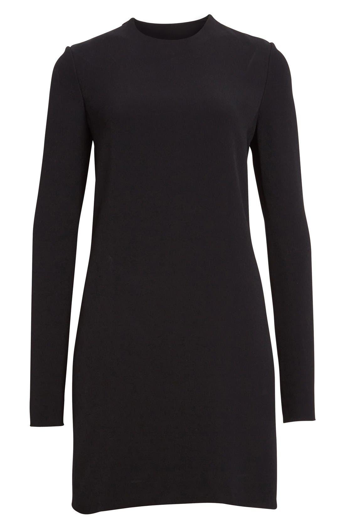 Alternate Image 4  - Victoria Beckham Lace Back Cady Shift Dress