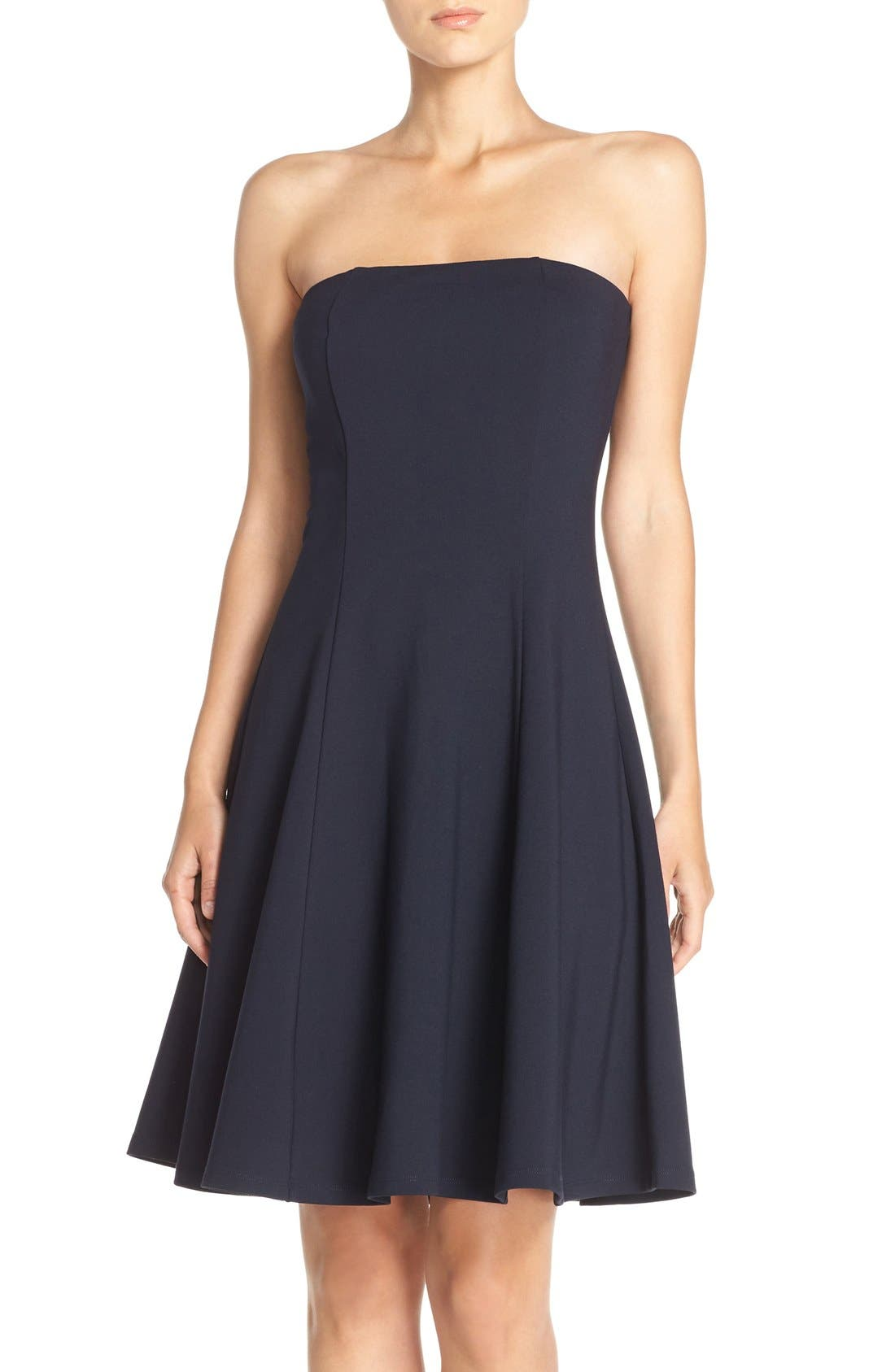 Main Image - Felicity & Coco Strapless Fit & Flare Dress (Nordstrom Exclusive)