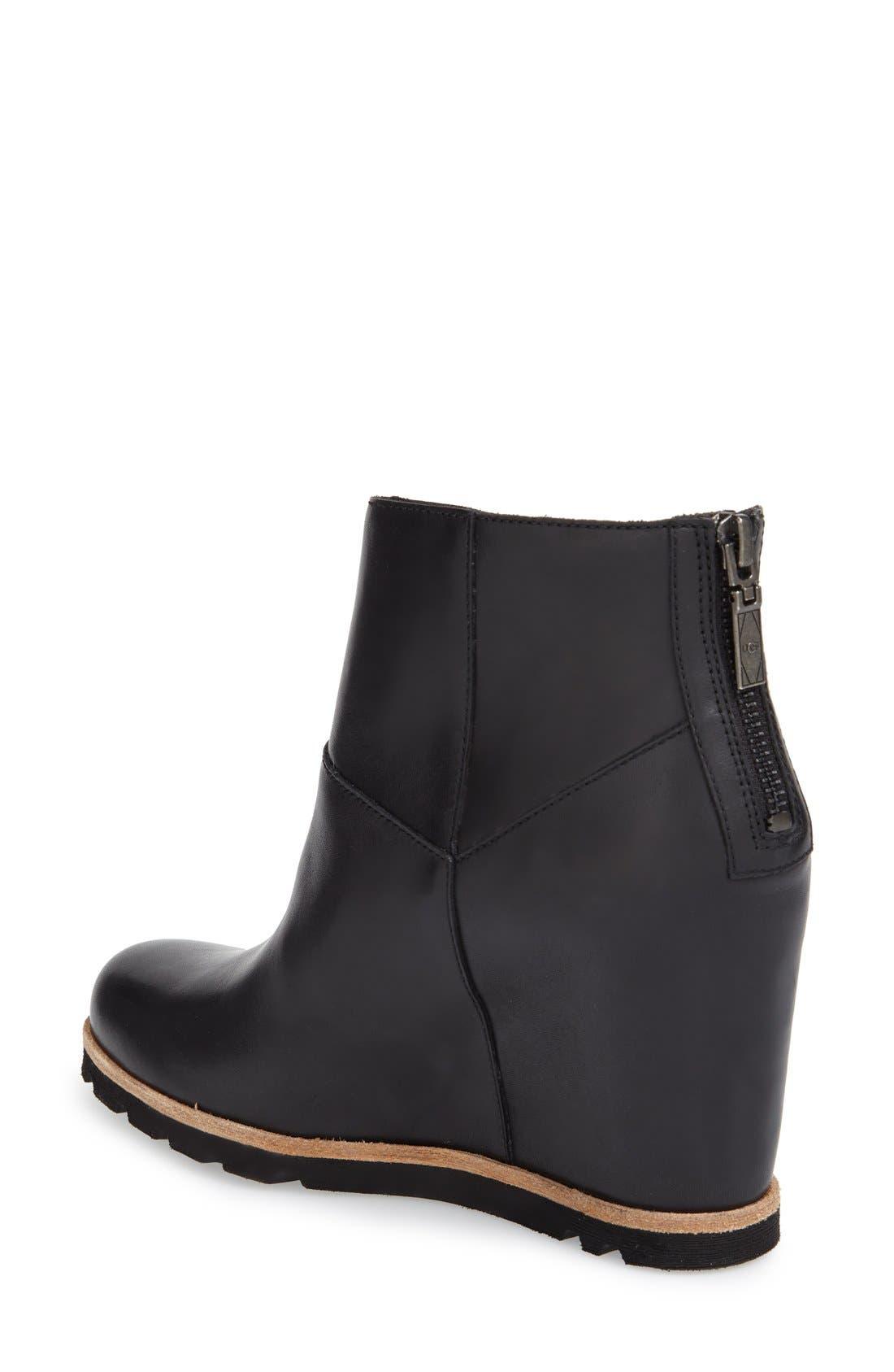 Alternate Image 2  - UGG® 'Amal' Wedge Boot (Women)