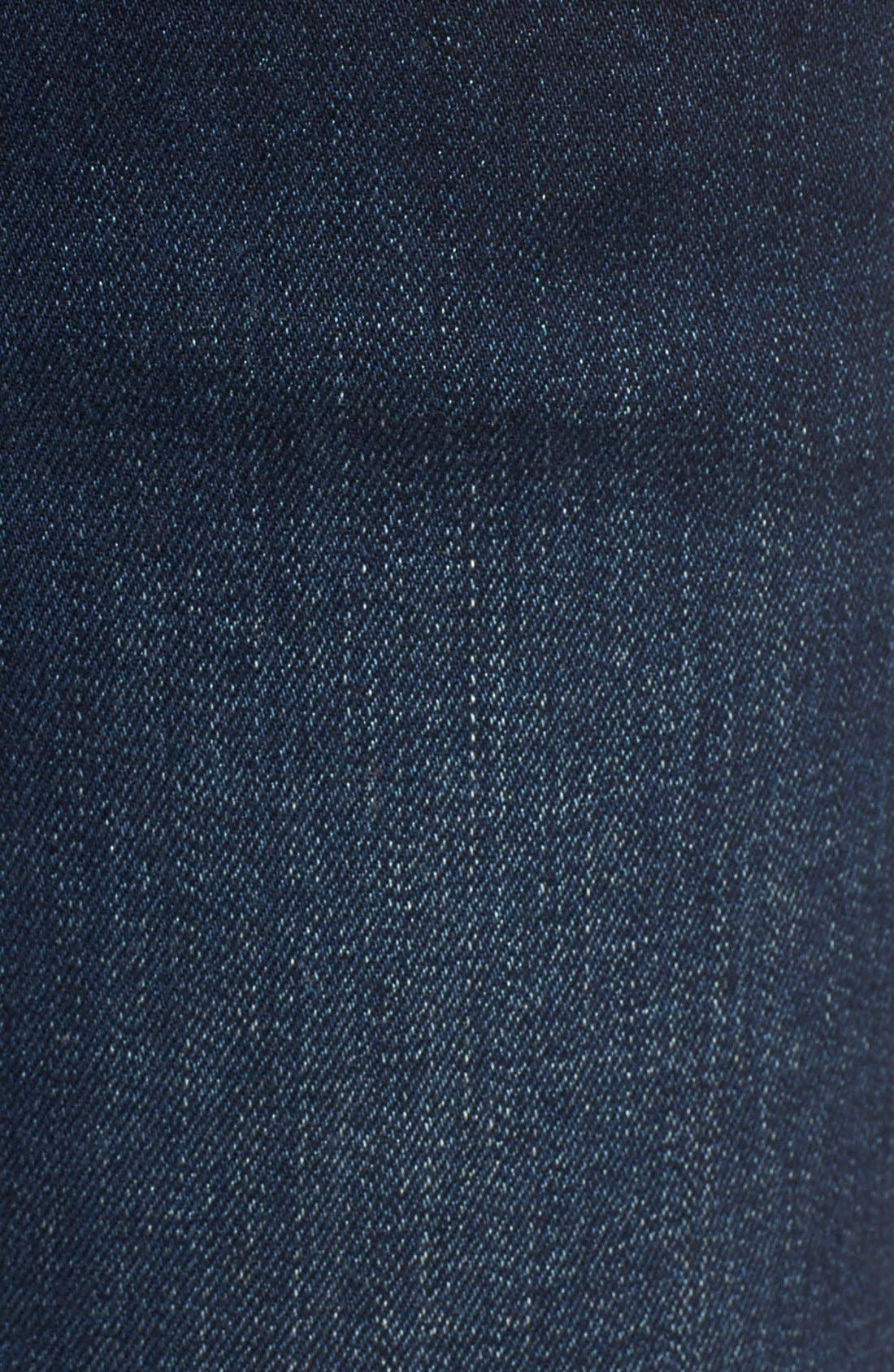 Alternate Image 5  - James Jeans Ankle Zip Skinny Jeans